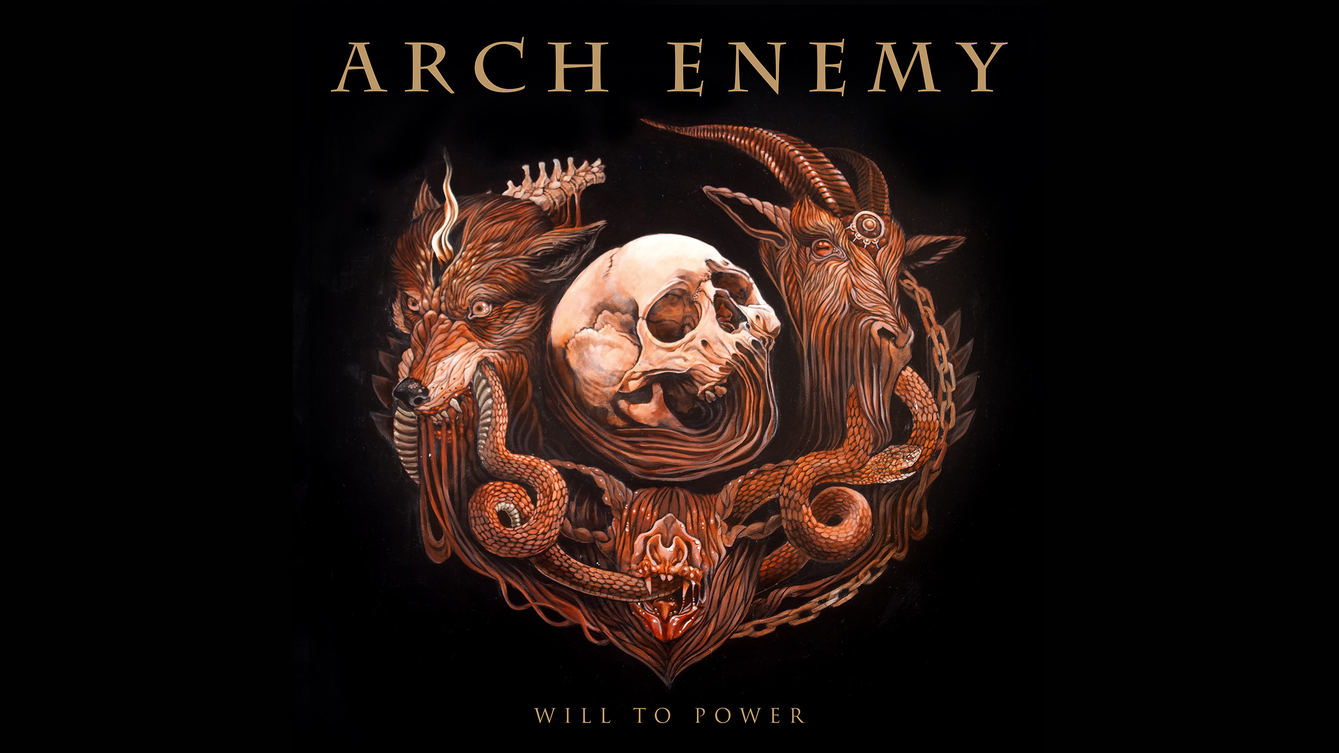 2667x1500 ... ARCH ENEMY - Will To Power [WALLPAPER] by disturbedkorea