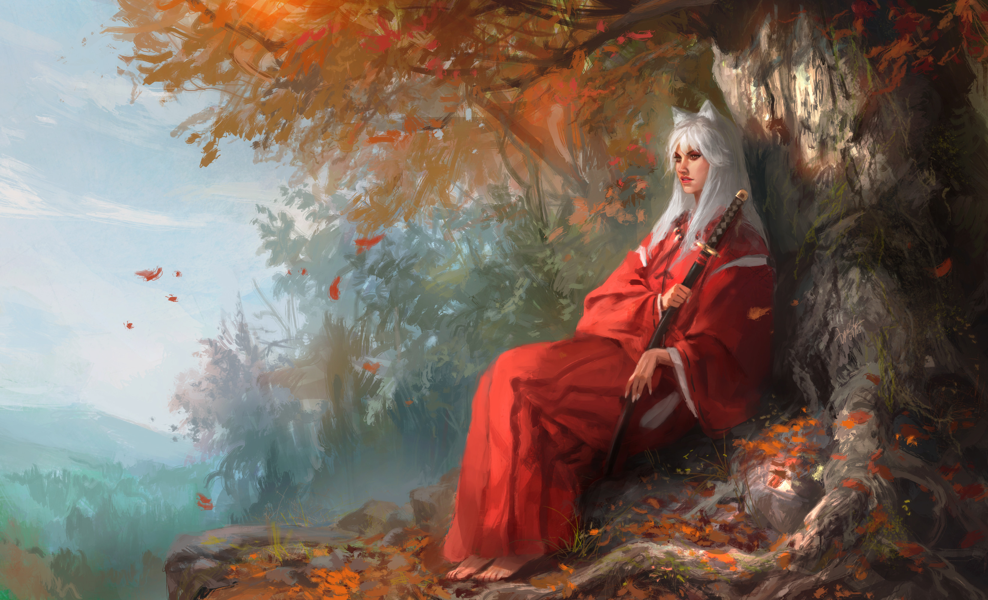 3291x2000 InuYasha HD Wallpaper | Background Image |  | ID:609334 - Wallpaper  Abyss