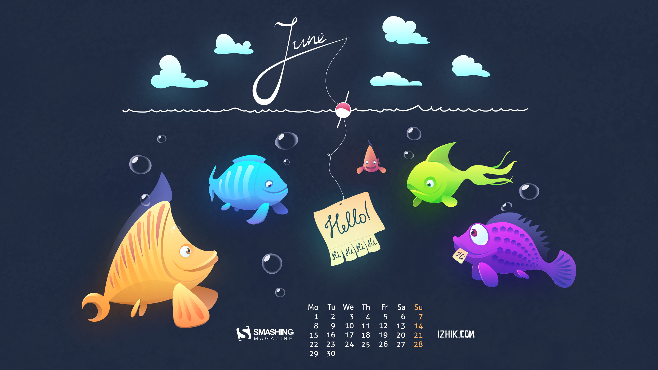 2560x1440 ... without calendar: ...