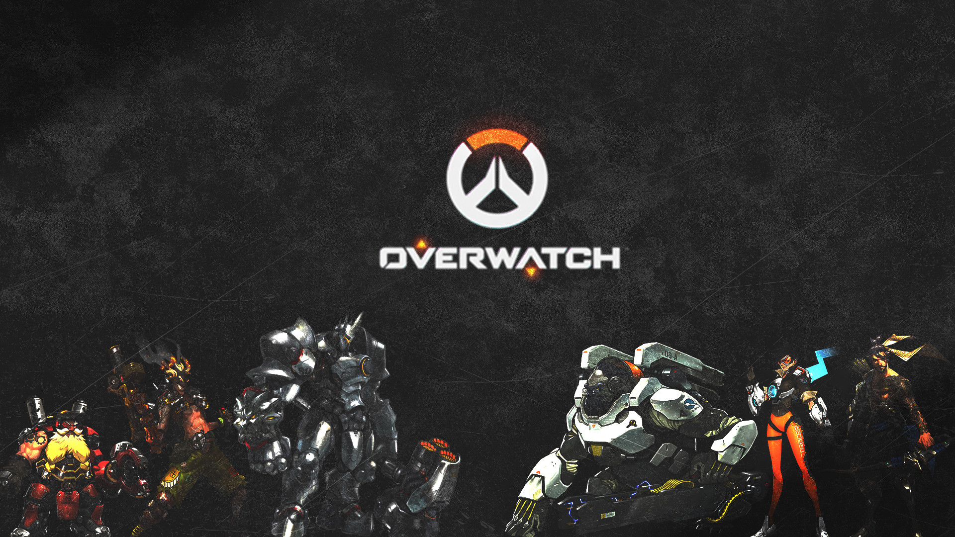 1920x1080 Video Game - Overwatch Torbjörn (Overwatch) Junkrat (Overwatch) Reinhardt ( Overwatch)