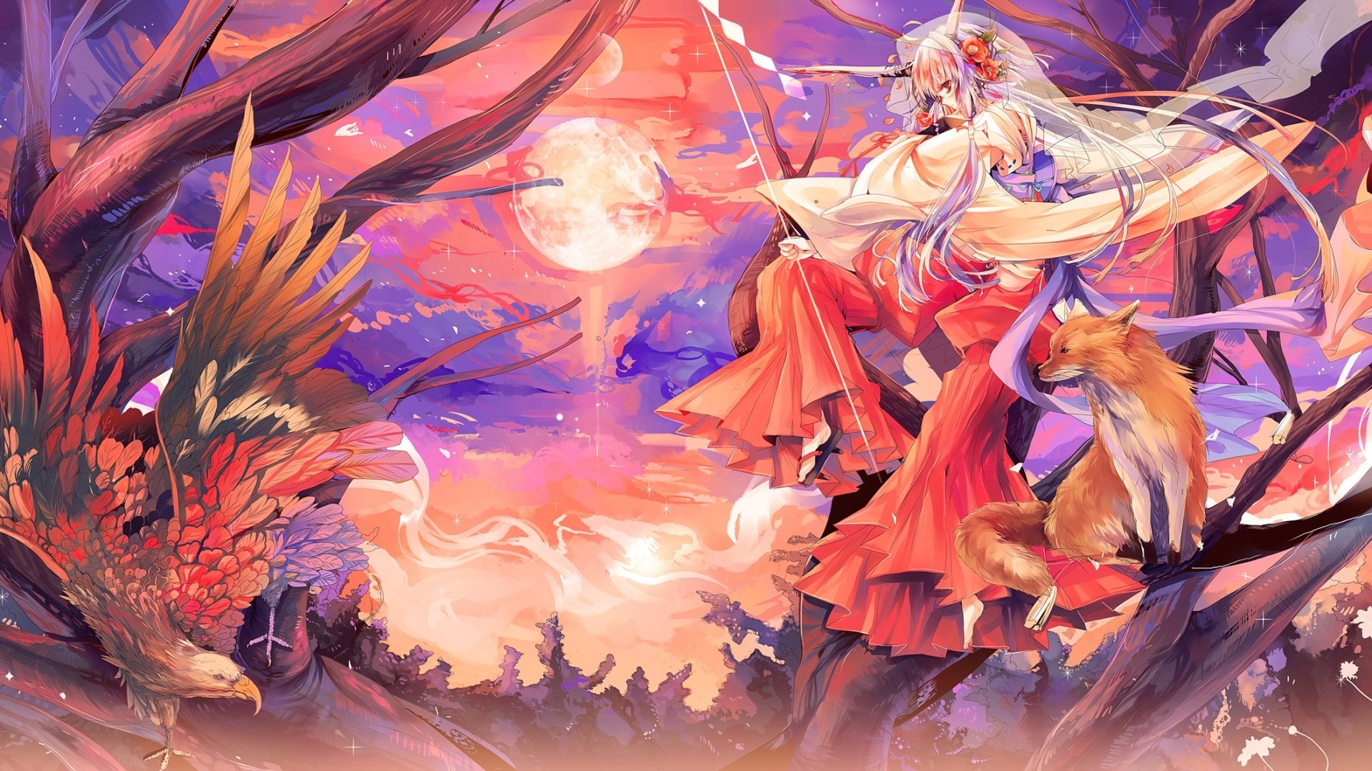 1920x1080 Full HD 1080p Kitsune Wallpapers HD, Desktop Backgrounds  .