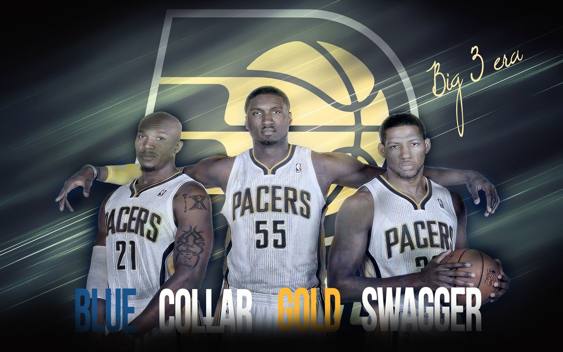 1920x1200 Indiana Pacers | Blue Collar Gold Swagger  Wallpaper, Wallpaper  Pc, Nba Updates,