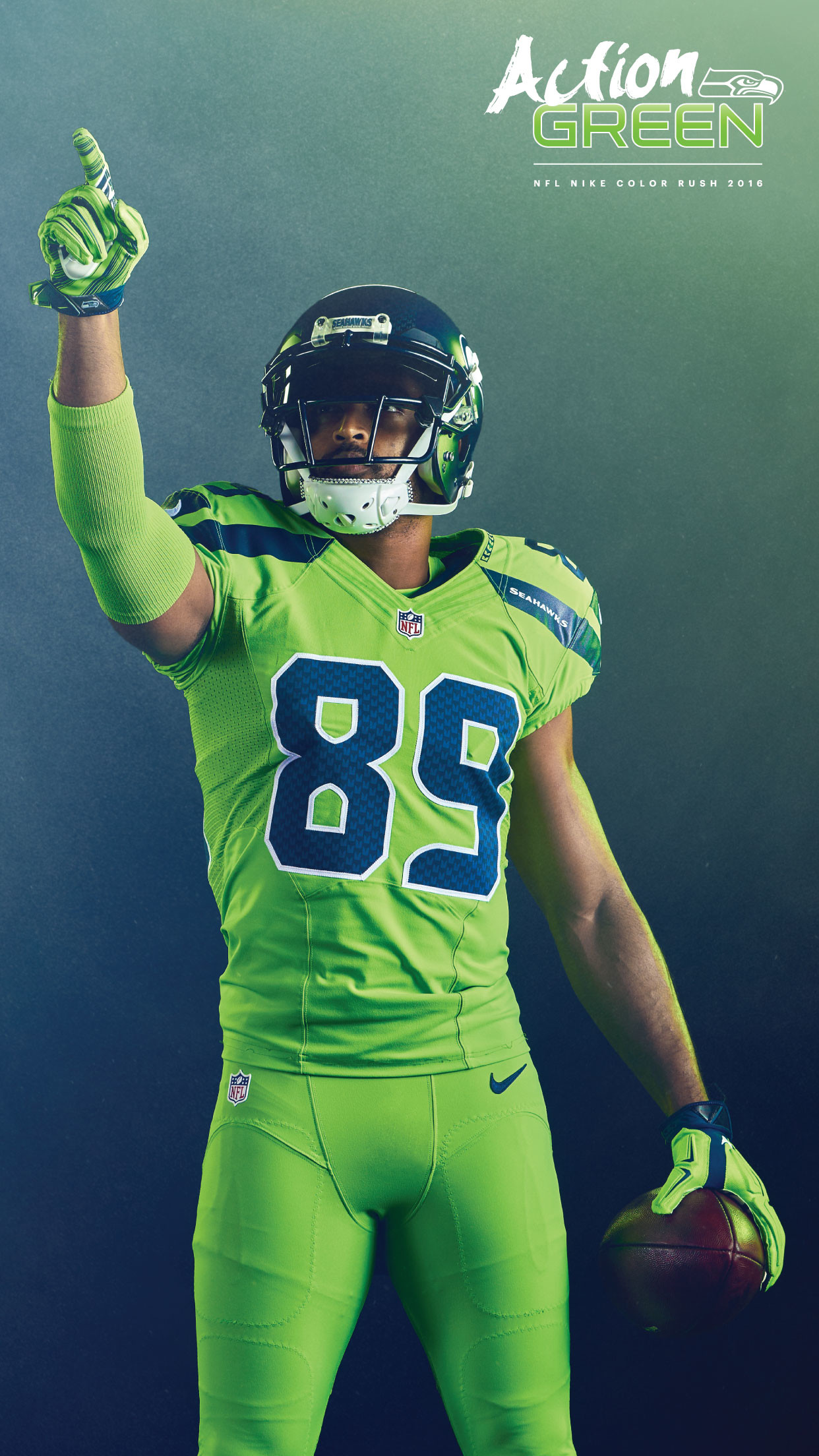 1242x2208 Action Green, Doug Baldwin