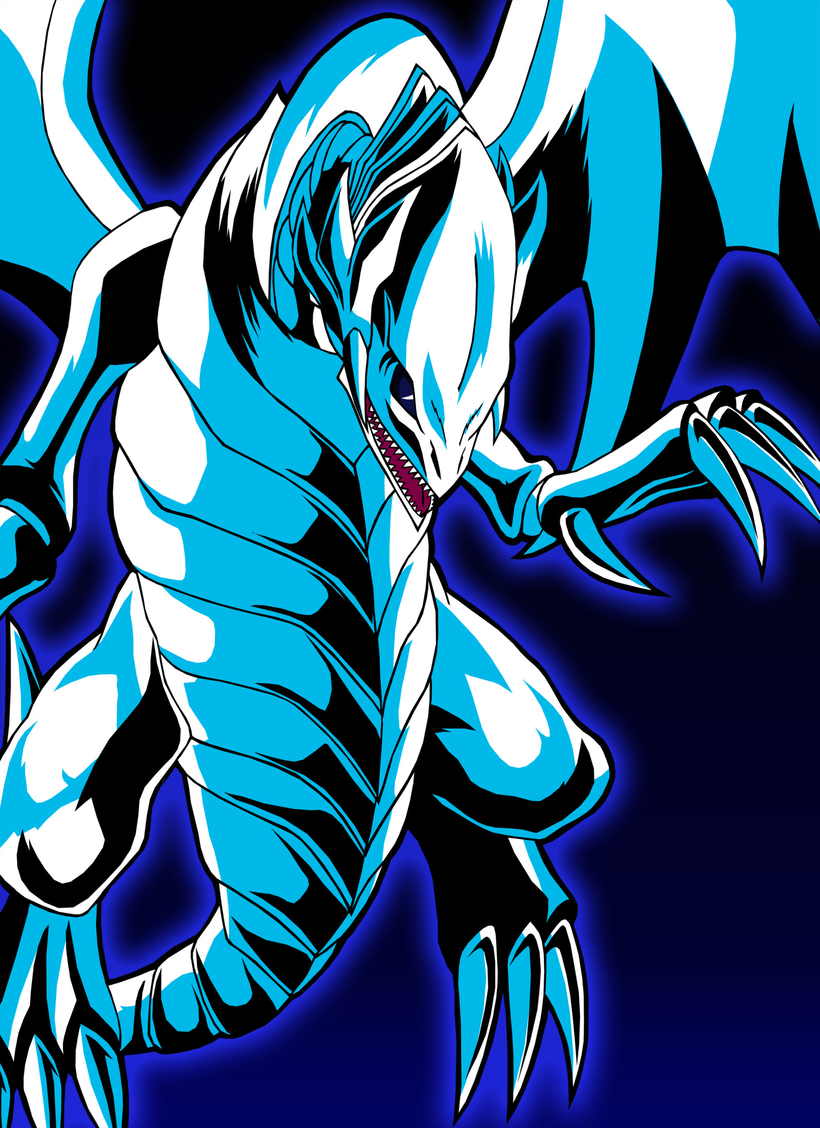 Blue Eyes White Dragon Wallpaper (62+ images)