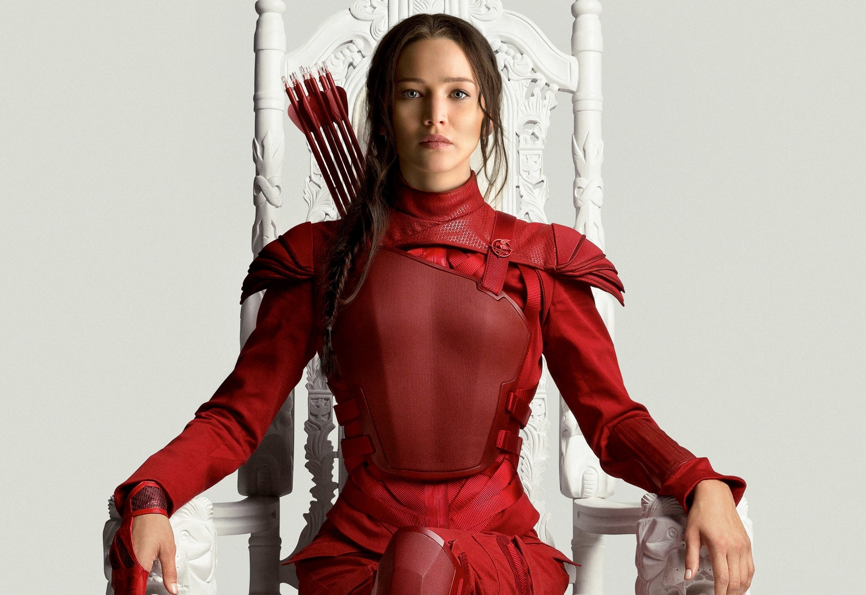 2952x2031 The Hunger Games Mockingjay Part 2, Jennifer Lawrence, Red Clothes