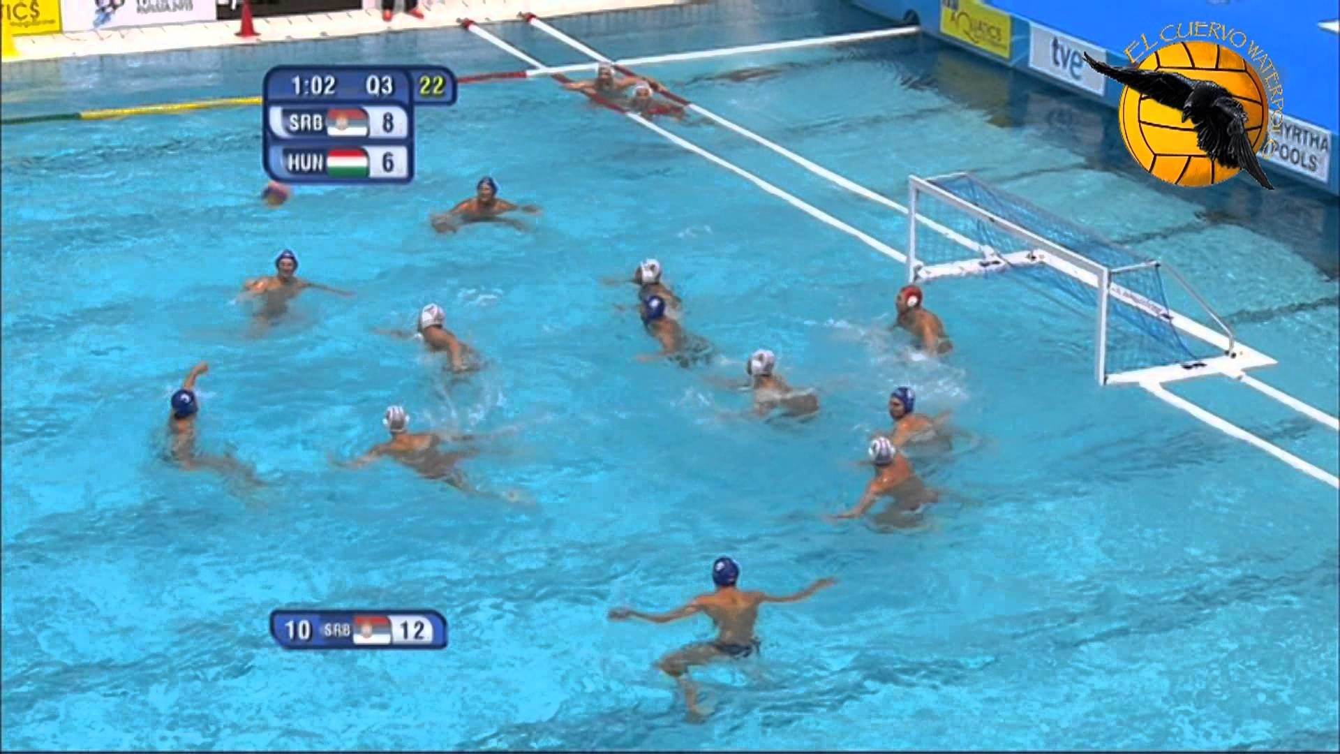 1920x1080 Serbia 13 Hungary 10 World Champs Barcelona 2013 prel 27 7 13 water polo -  YouTube