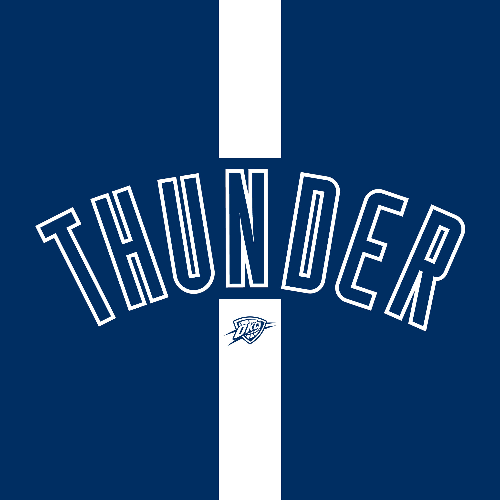 2048x2048 Okc Thunder Wallpaper
