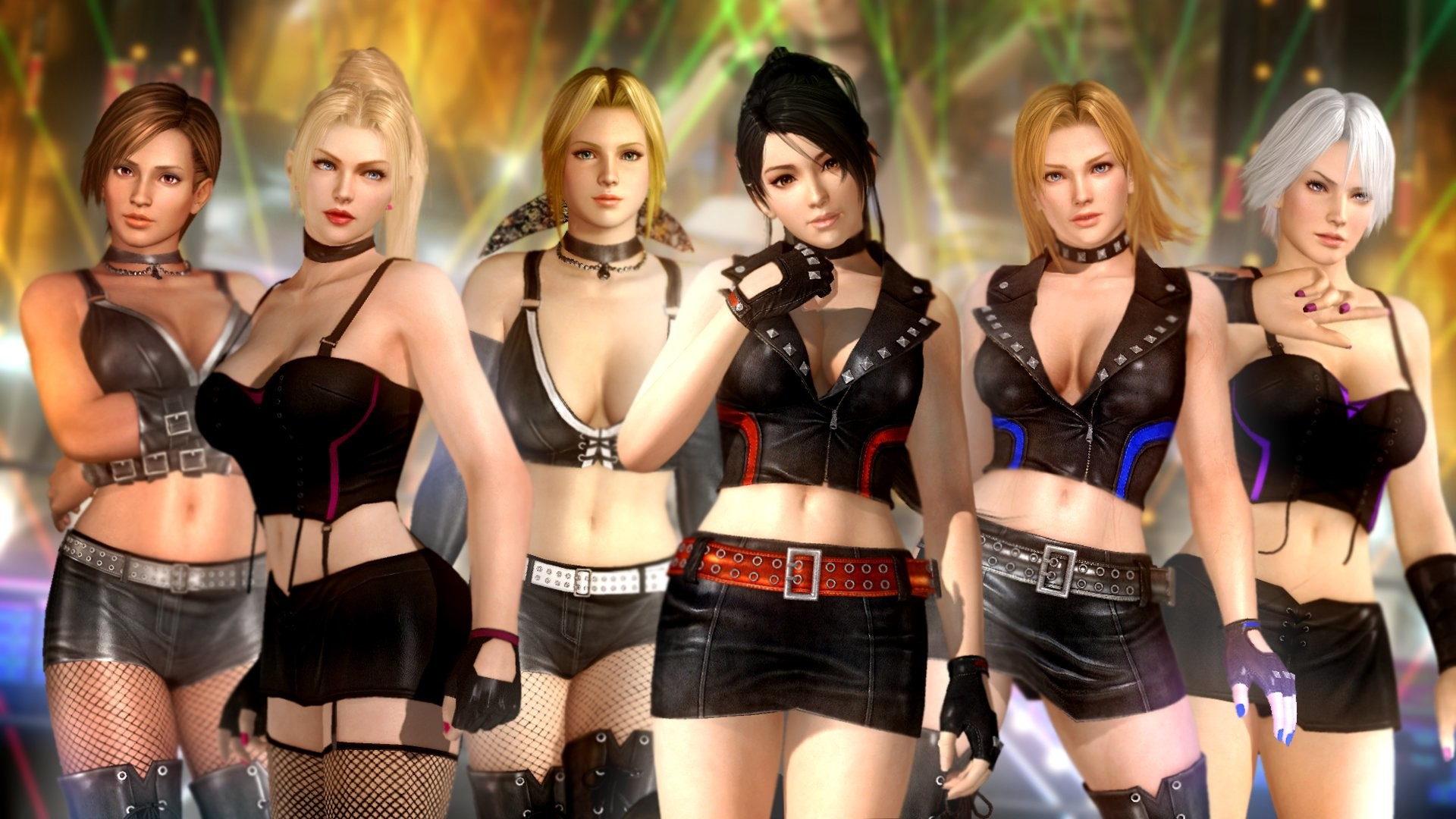 1920x1080 Dead or Alive 5 Group HD Wallpaper
