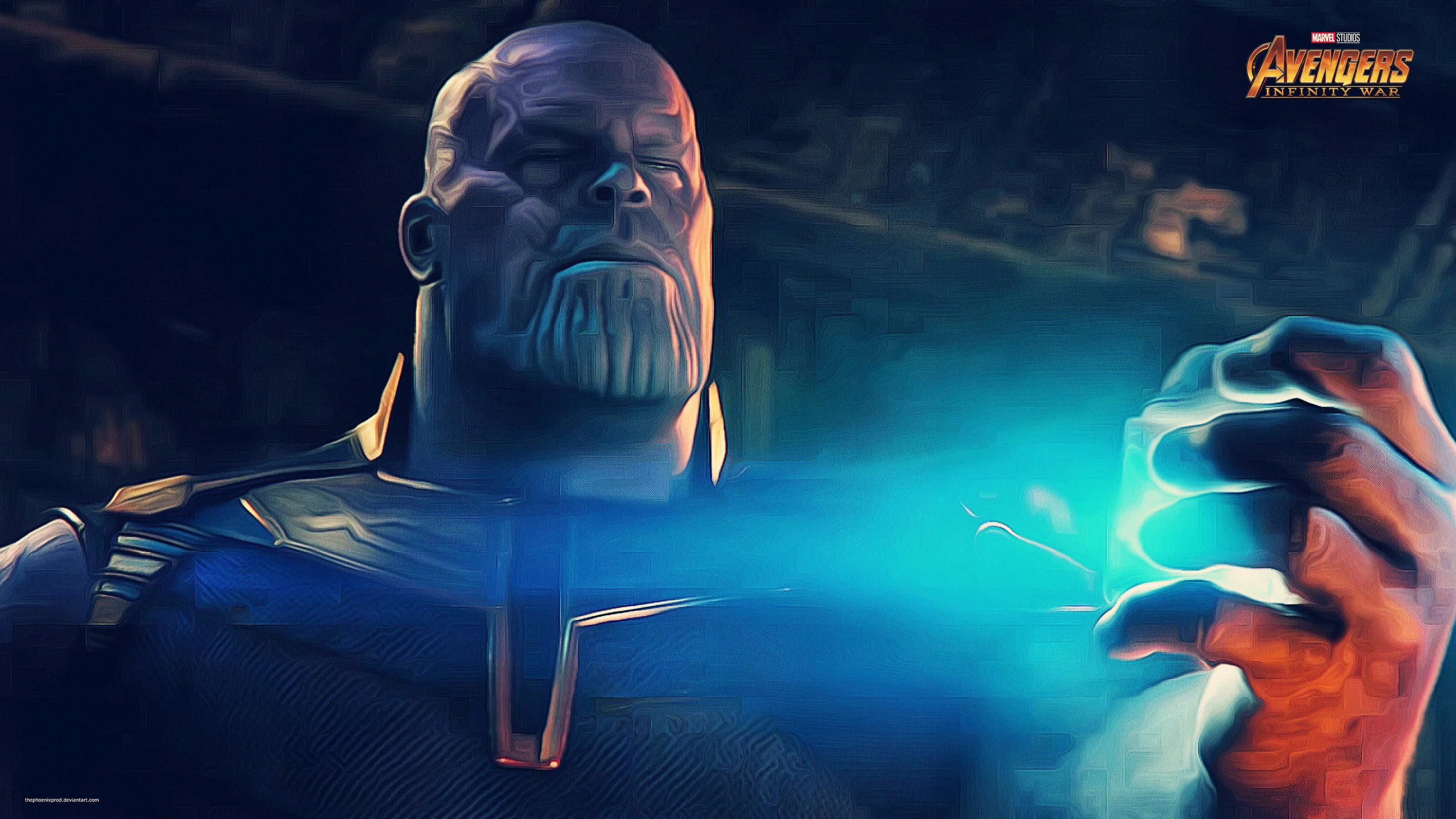 3200x1800  Marvel Avengers Thanos digital wallpaper HD wallpaper | Wallpaper  Flare