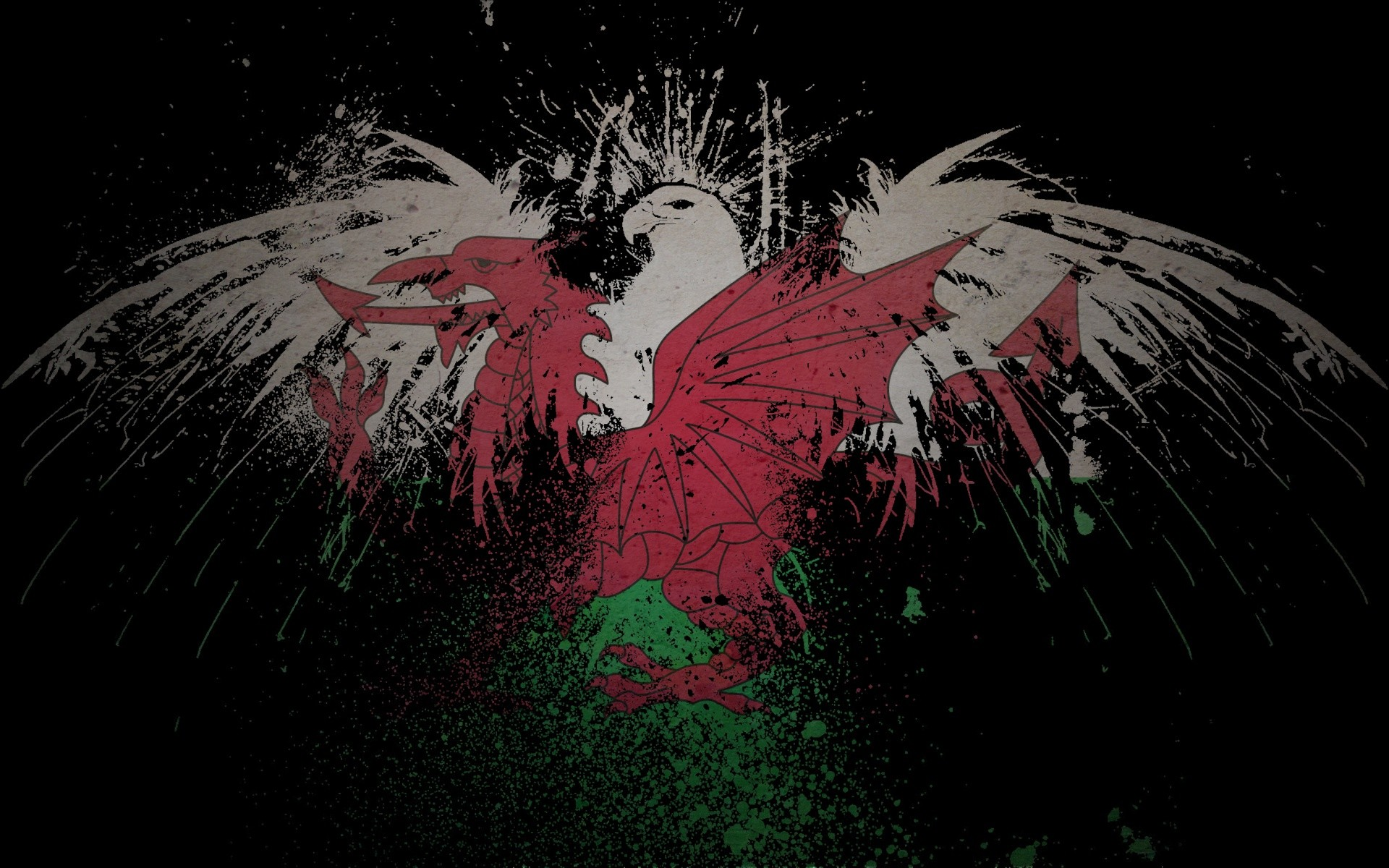 1920x1200 eagle flag wallpaper  id 20890 wallpapervortex com; welsh flag  wallpaper wallpapersafari ...