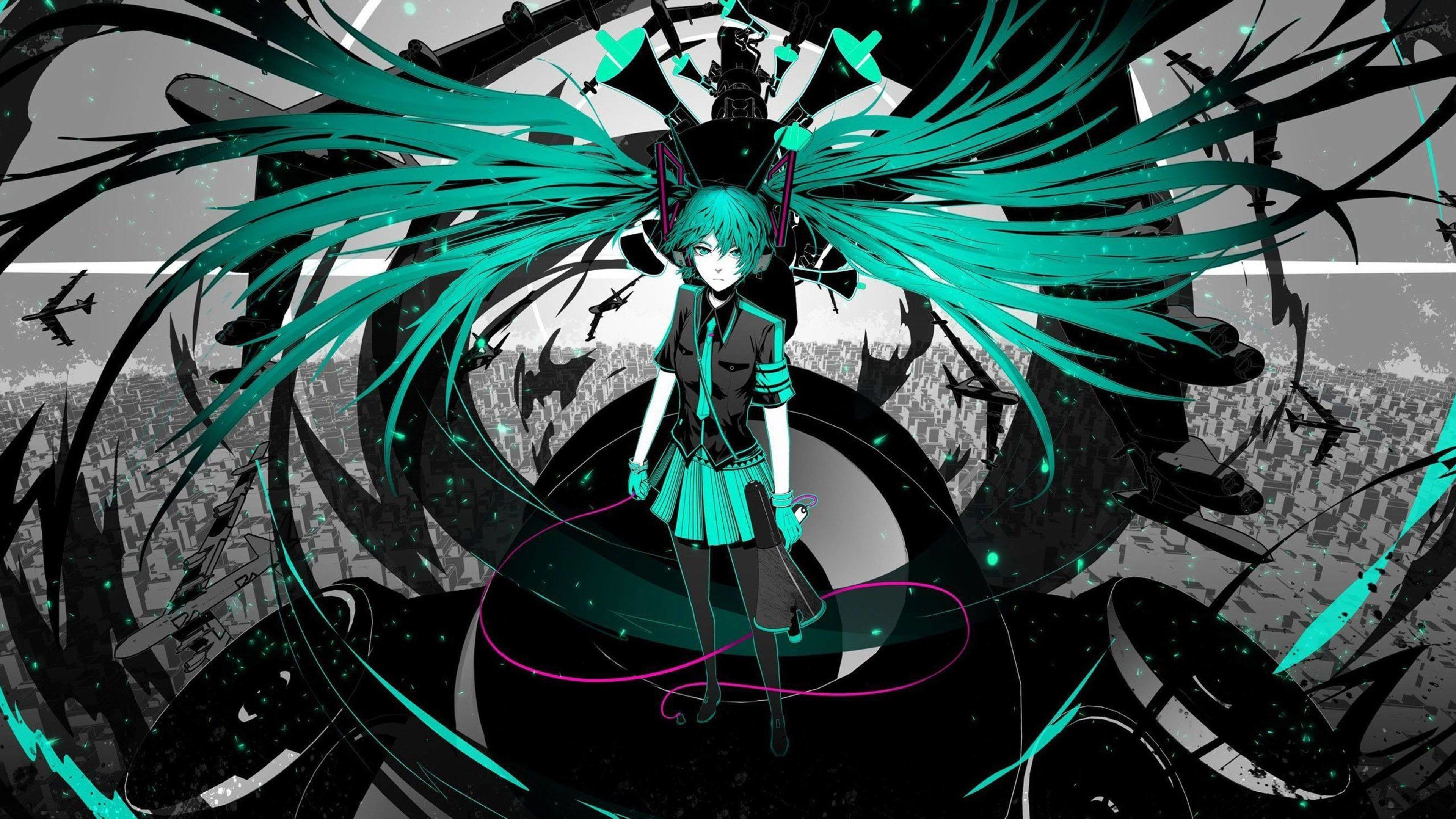 3840x2160 free hd hatsune miku wallpapers hd wallpapers background photos windows  apple tablet artworks 4k download 3840×2160 Wallpaper HD