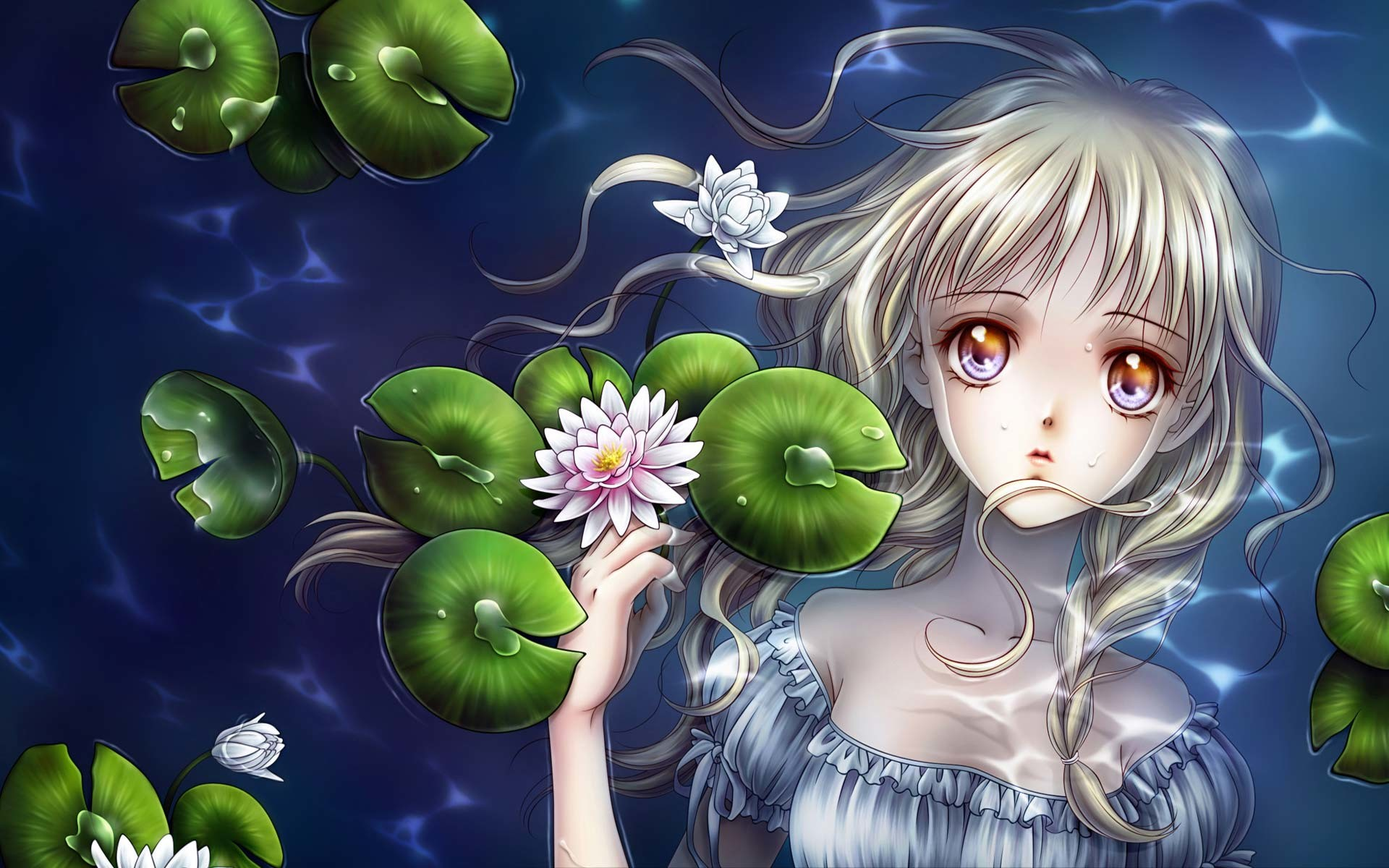 1920x1200 Beautiful Anime Wallpaper Picture 378
