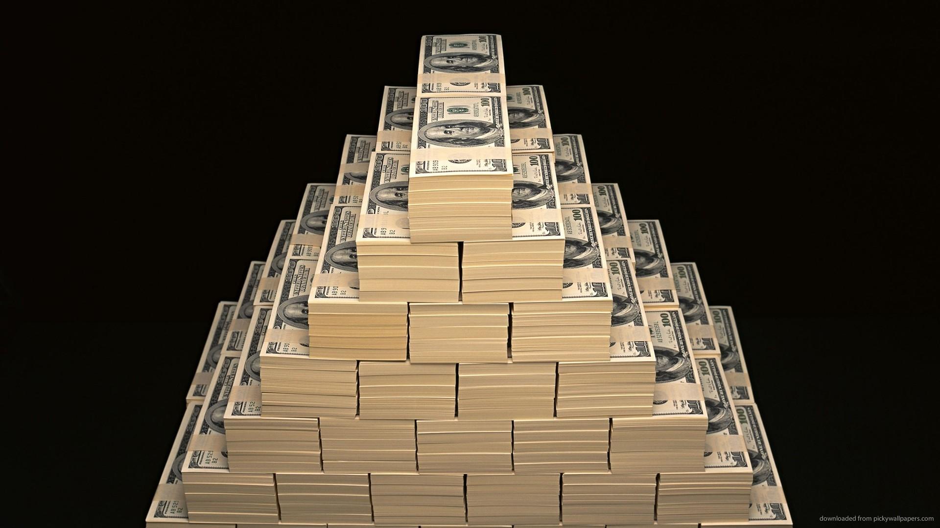 1920x1080 HD Money Pyramids Wallpaper