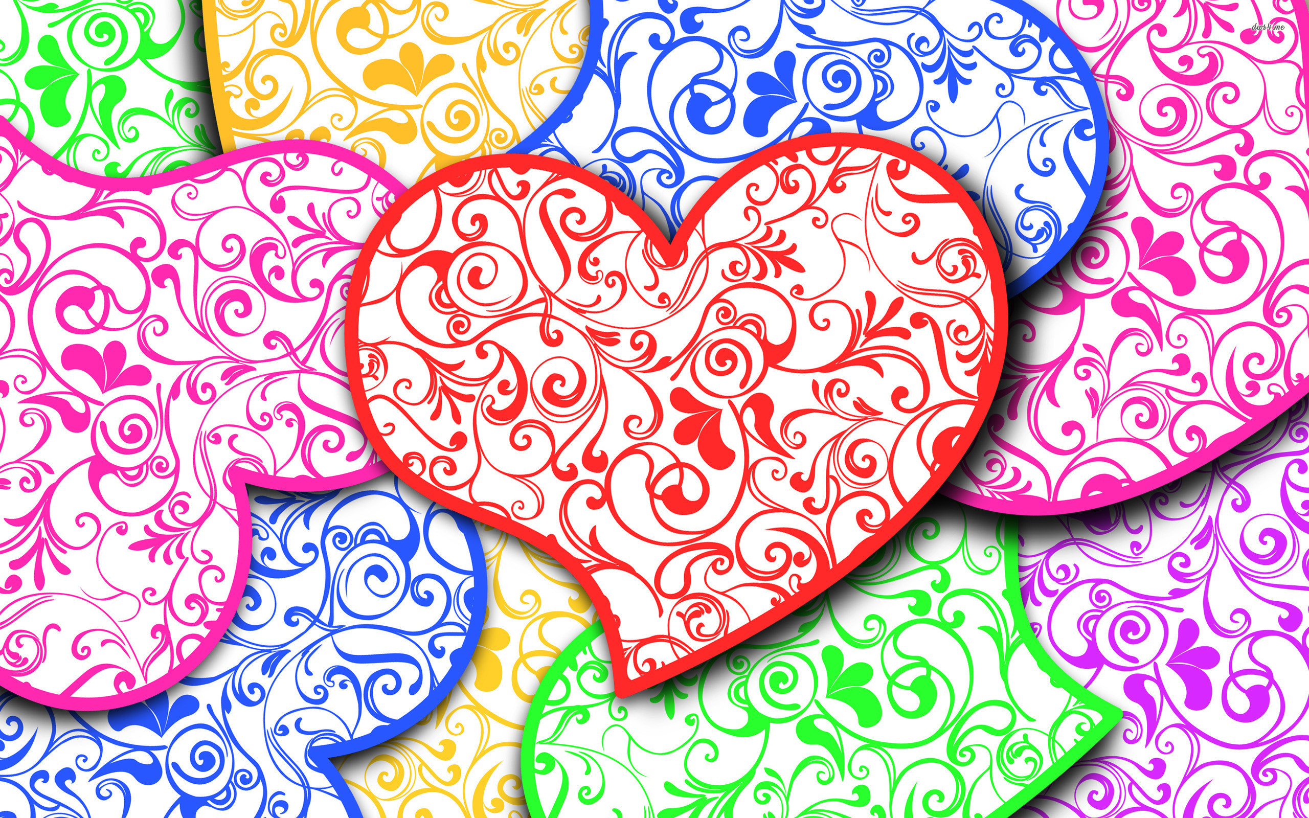 2560x1600 Hearts Wallpaper 23 - 2560 X 1600