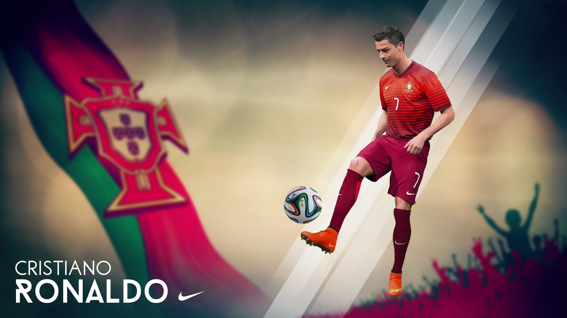 1920x1080 Cristiano Ronaldo Portugal FIFA World Cup 2014 wallpaper