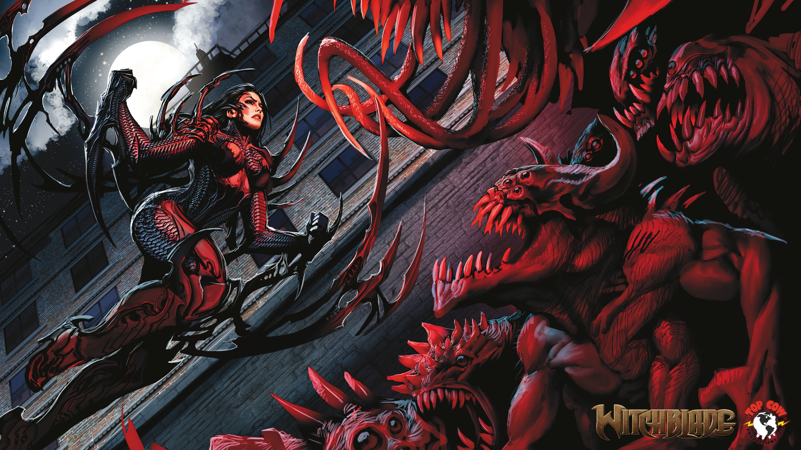 2560x1440 Comics - Witchblade Wallpaper