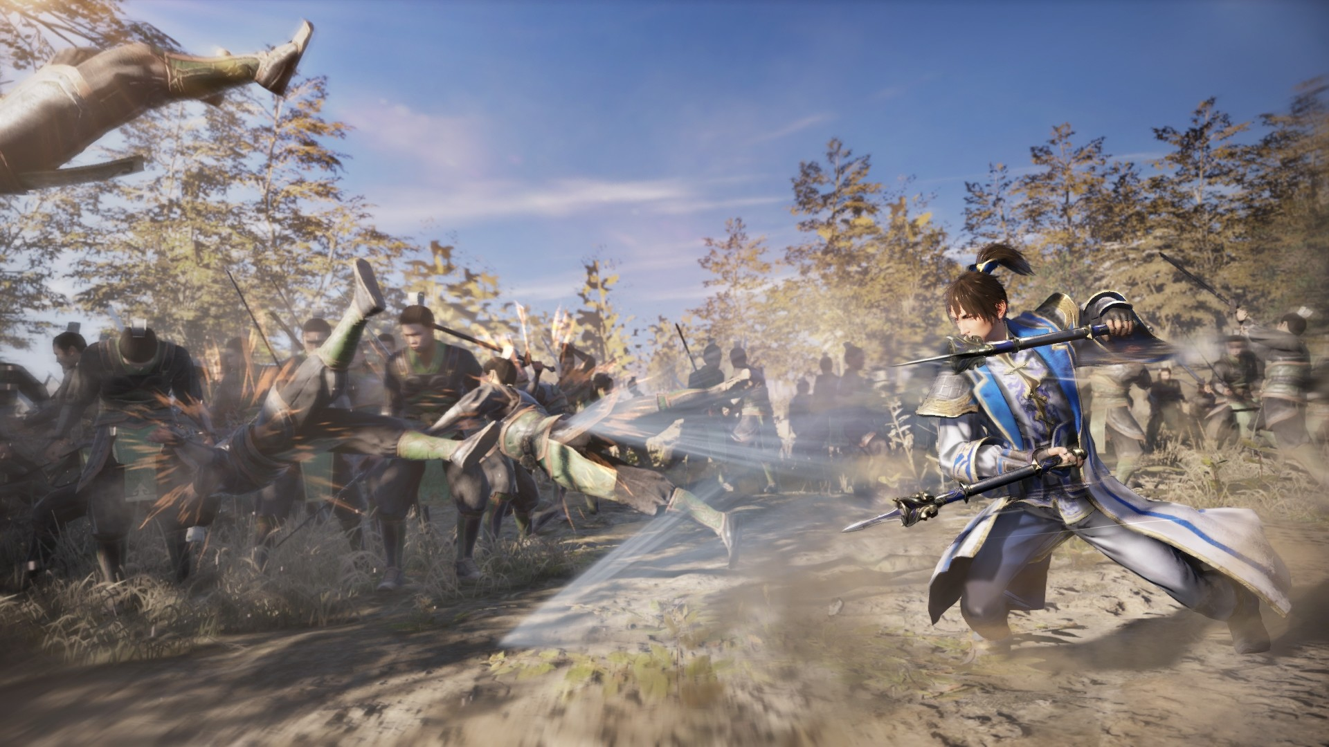 1920x1080 Dynasty Warriors 9 Action Wallpaper