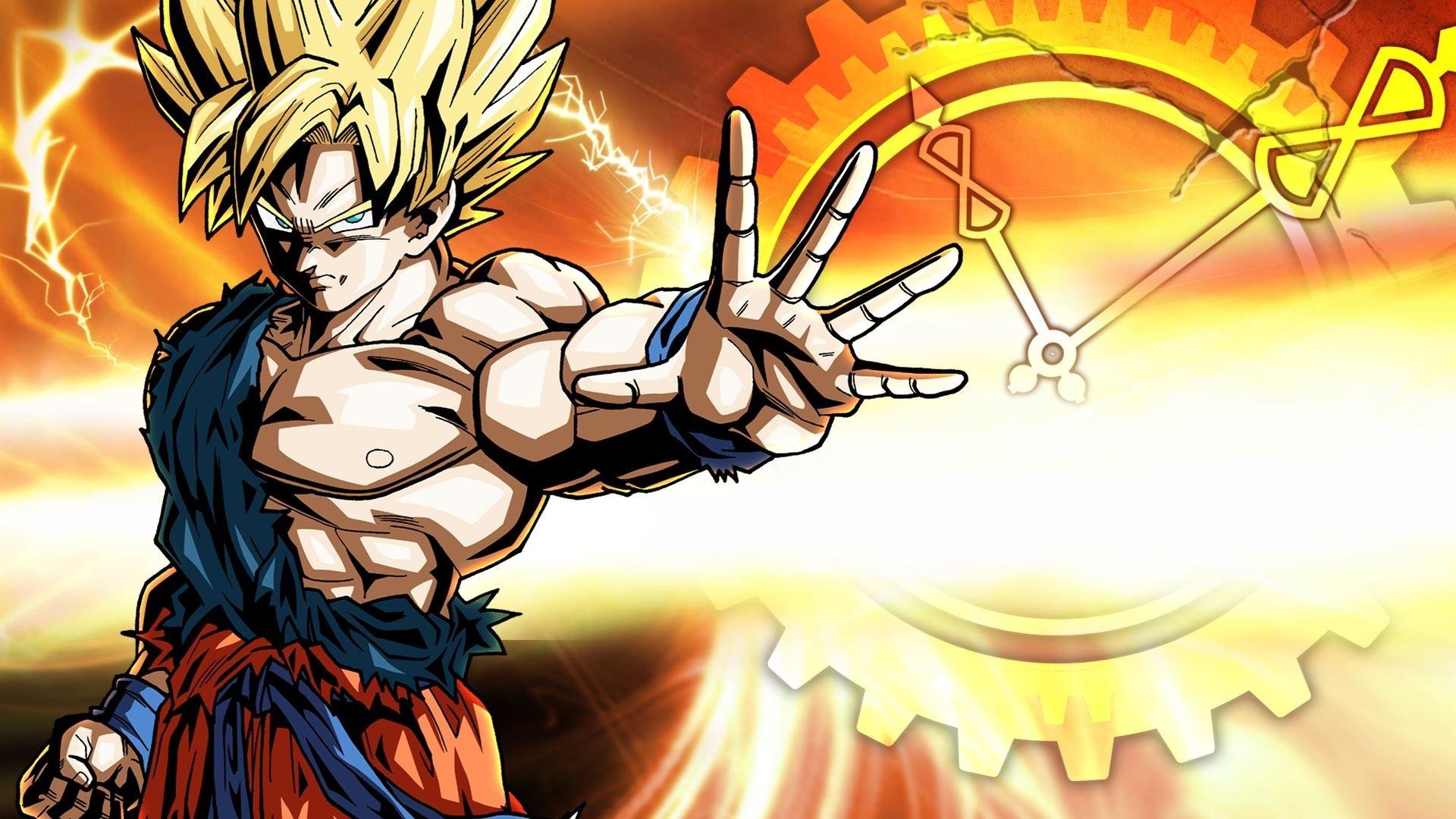 1920x1080 Wallpaper Dragon Ball Z Goku Aggression Guy