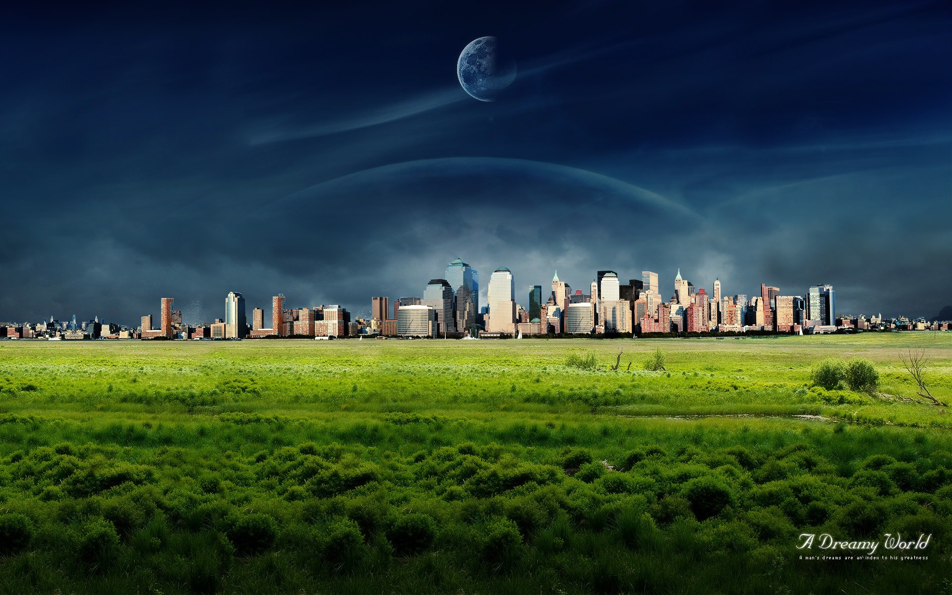 1920x1200 A Dreamy World 95th Wallpaper Photo Manipulated Nature Wallpapers