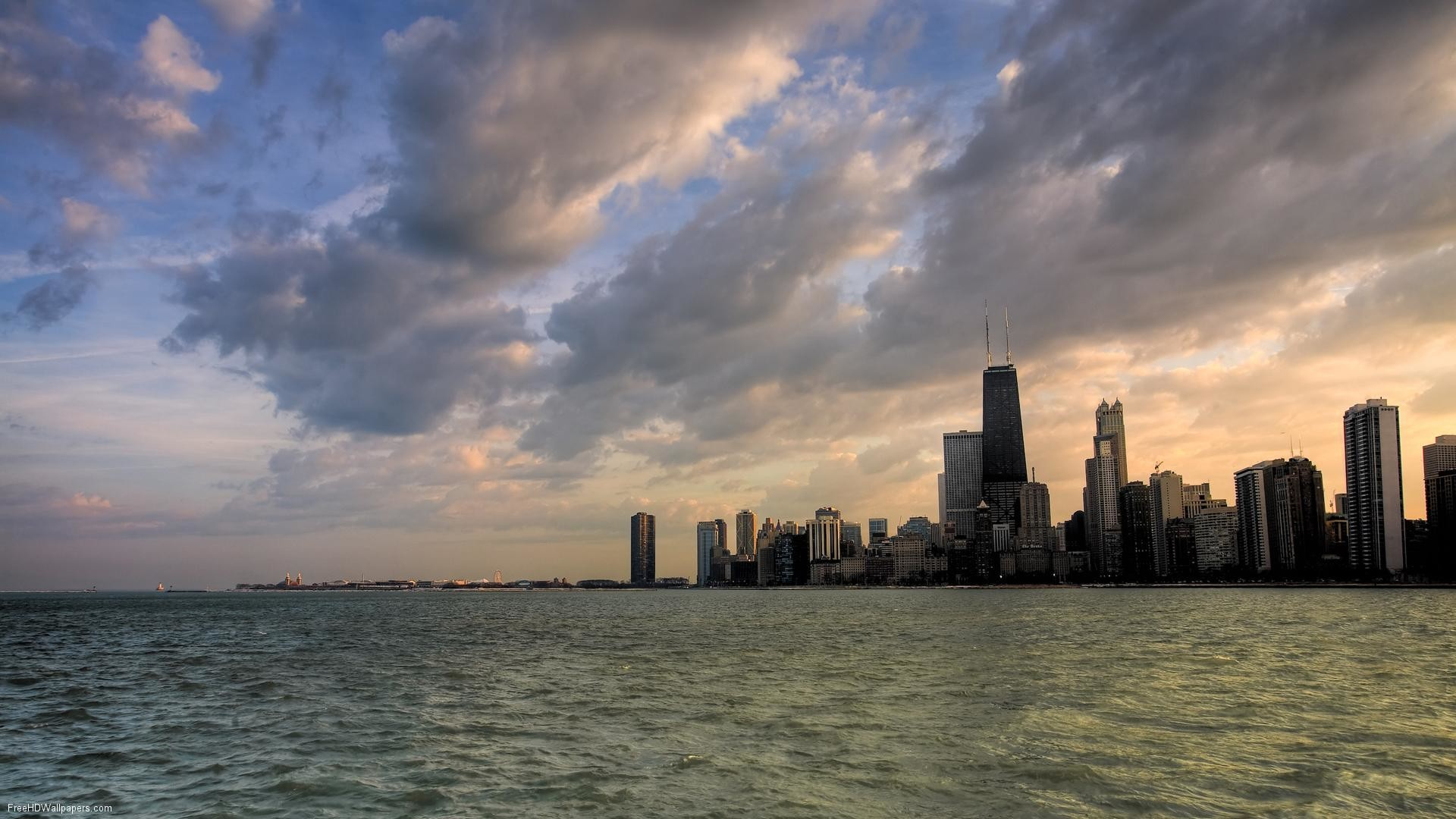 1920x1080 wallpaper.wiki-Chicago-Skyline-Wallpapers-PIC-WPE0011282