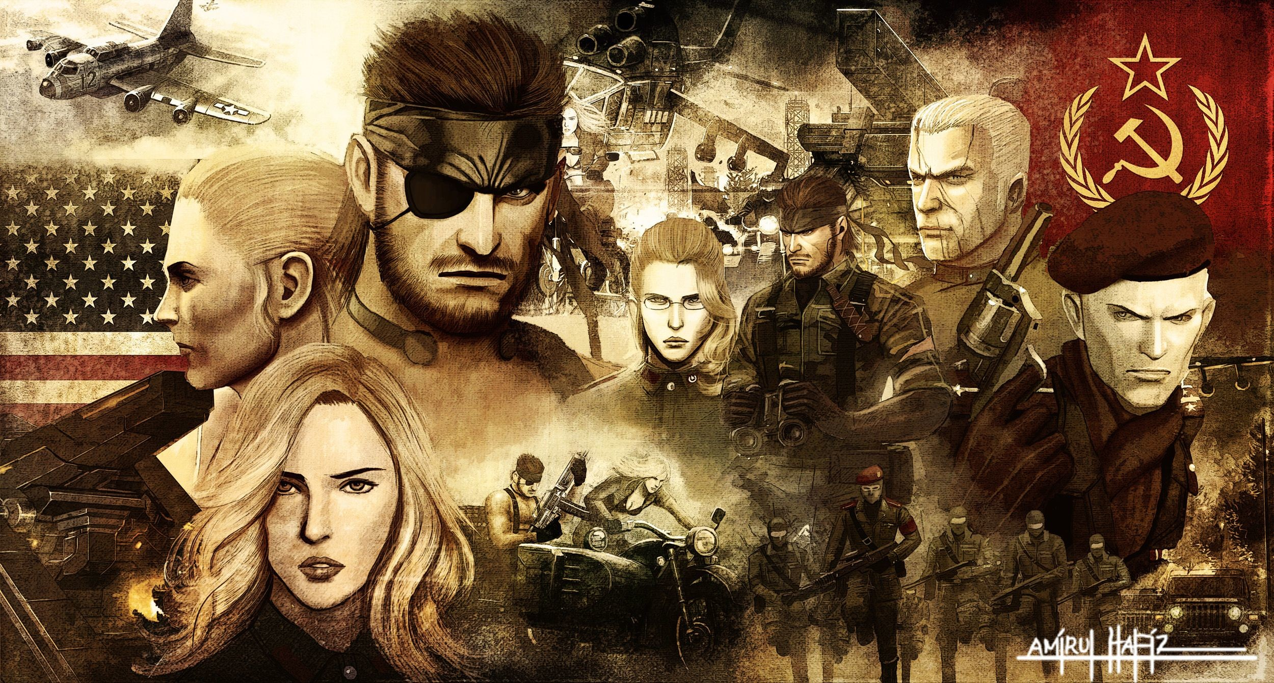 2500x1340 Metal Gear Solid wallpaper
