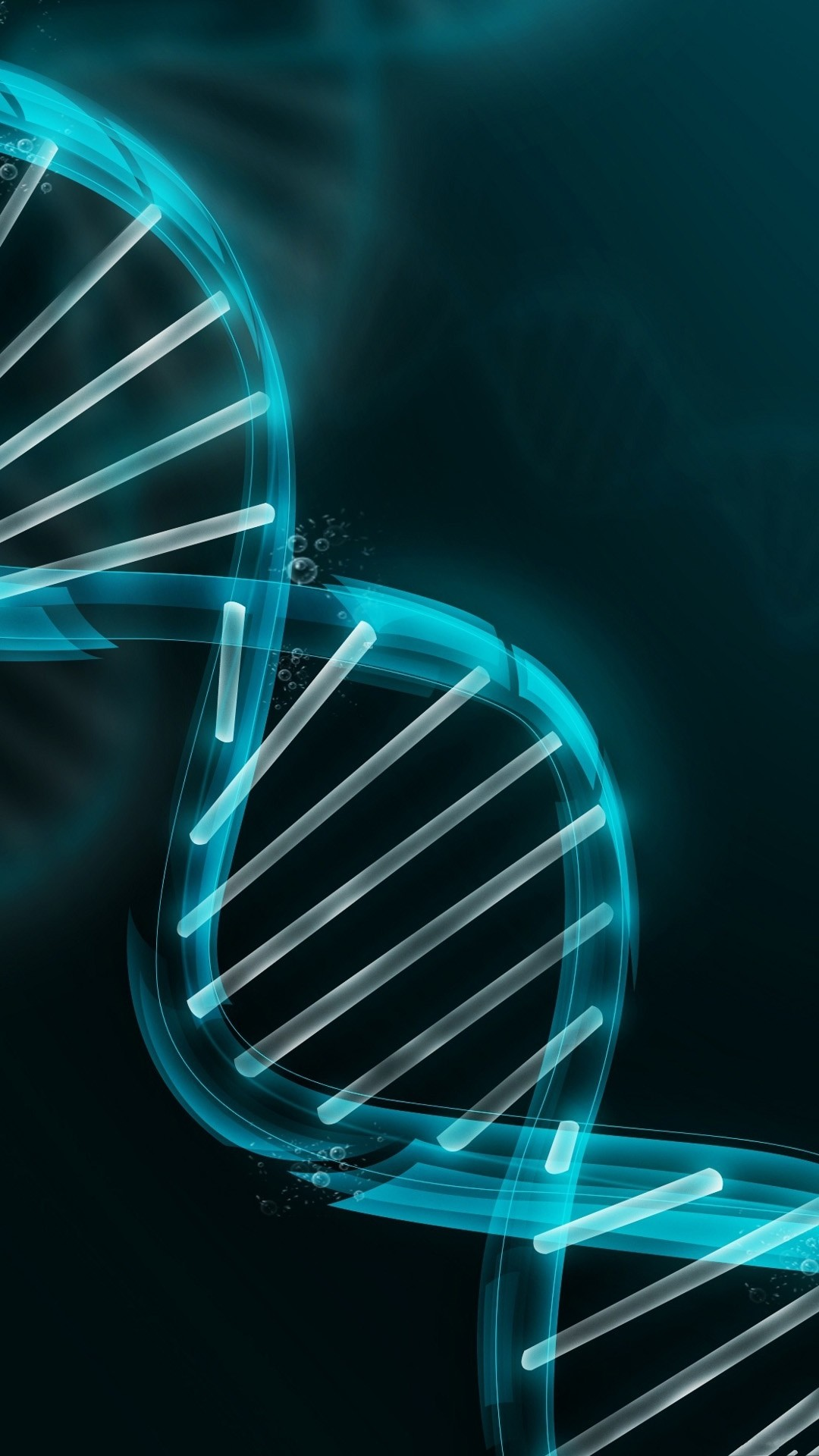1080x1920 3D DNA illustration - Best htc one wallpapers