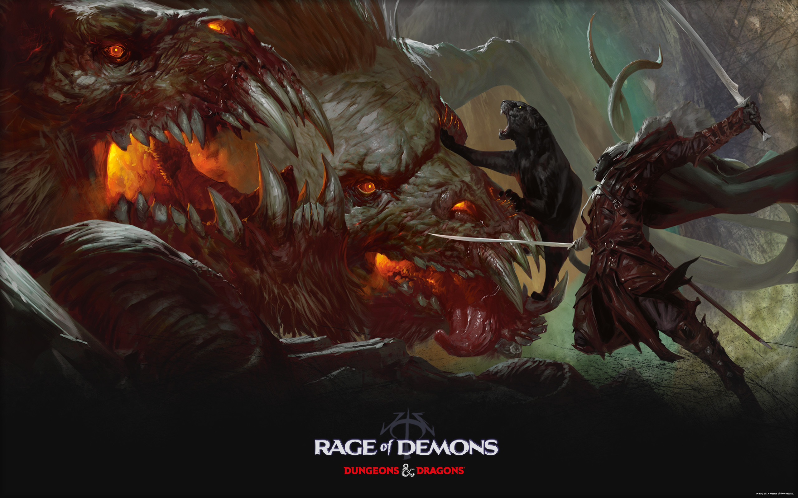 2560x1600 Rage of Demons, a new Dungeons & Dragons Storyline, Coming This Fall