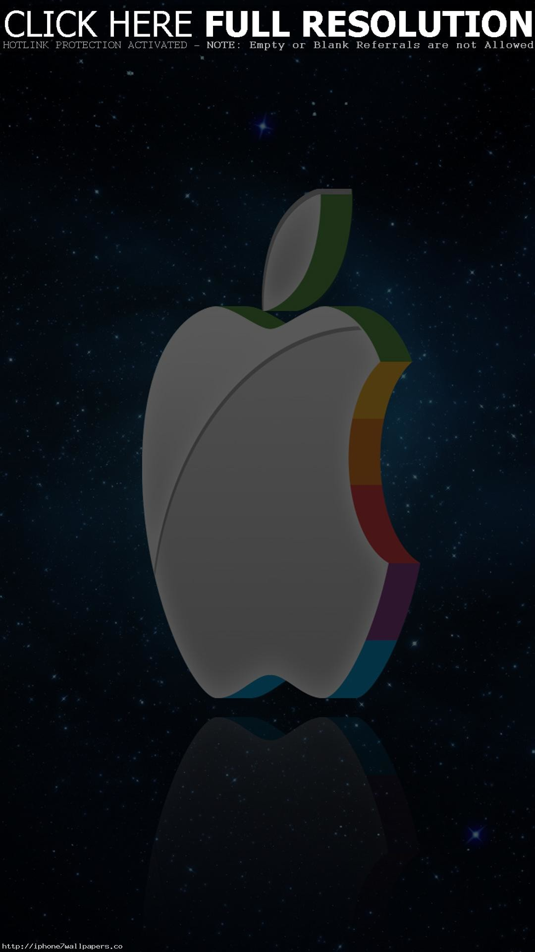1080x1920 ... 3d apple logo in e android wallpaper android hd wallpapers ...
