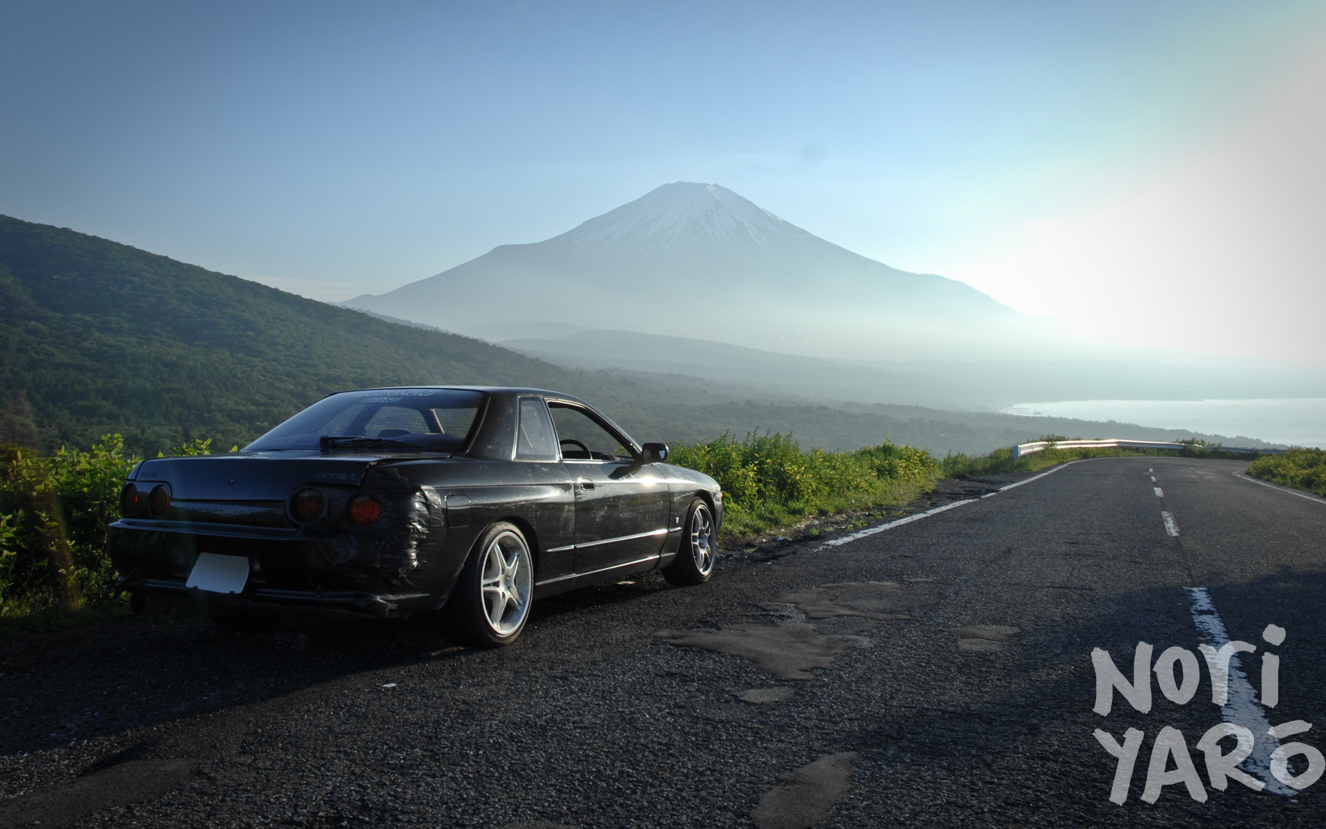 1920x1200 WALLPAPER WEDNESDAY: Skyline at Fuji, and 396 Motoring Cresta