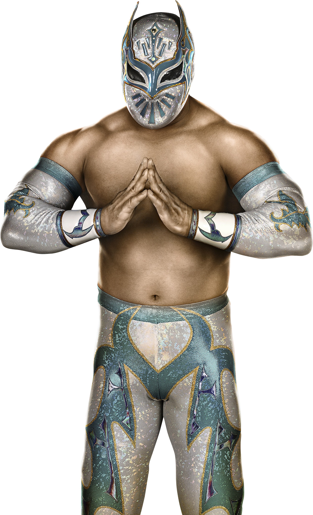 1258x2069 ... WWE 2K14 Sin Cara Render Cutout by ThexRealxBanks