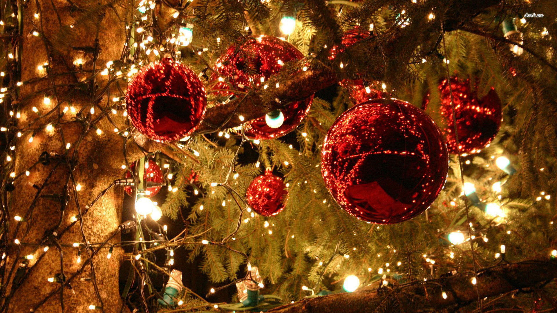 1920x1080 Christmas Holiday Decorations