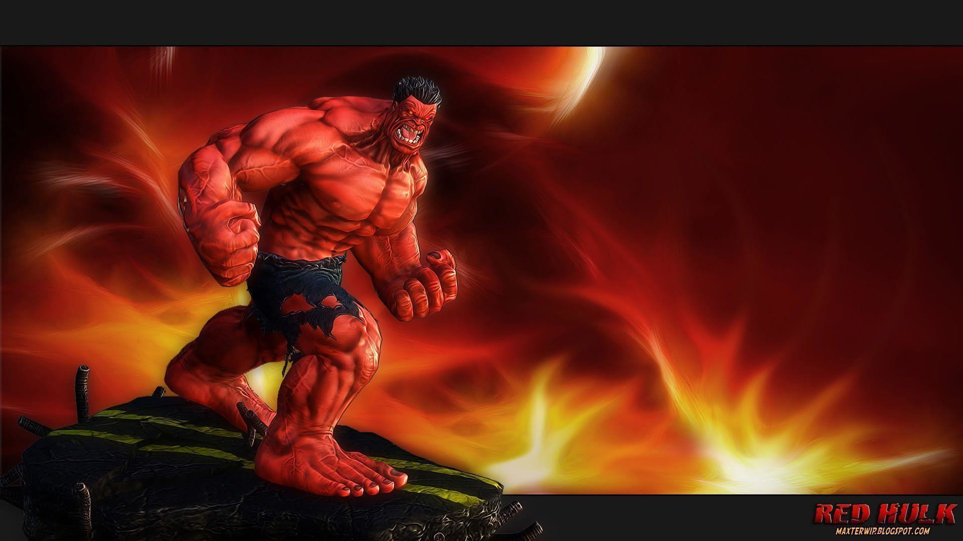 1920x1080 Red Hulk Wallpapers