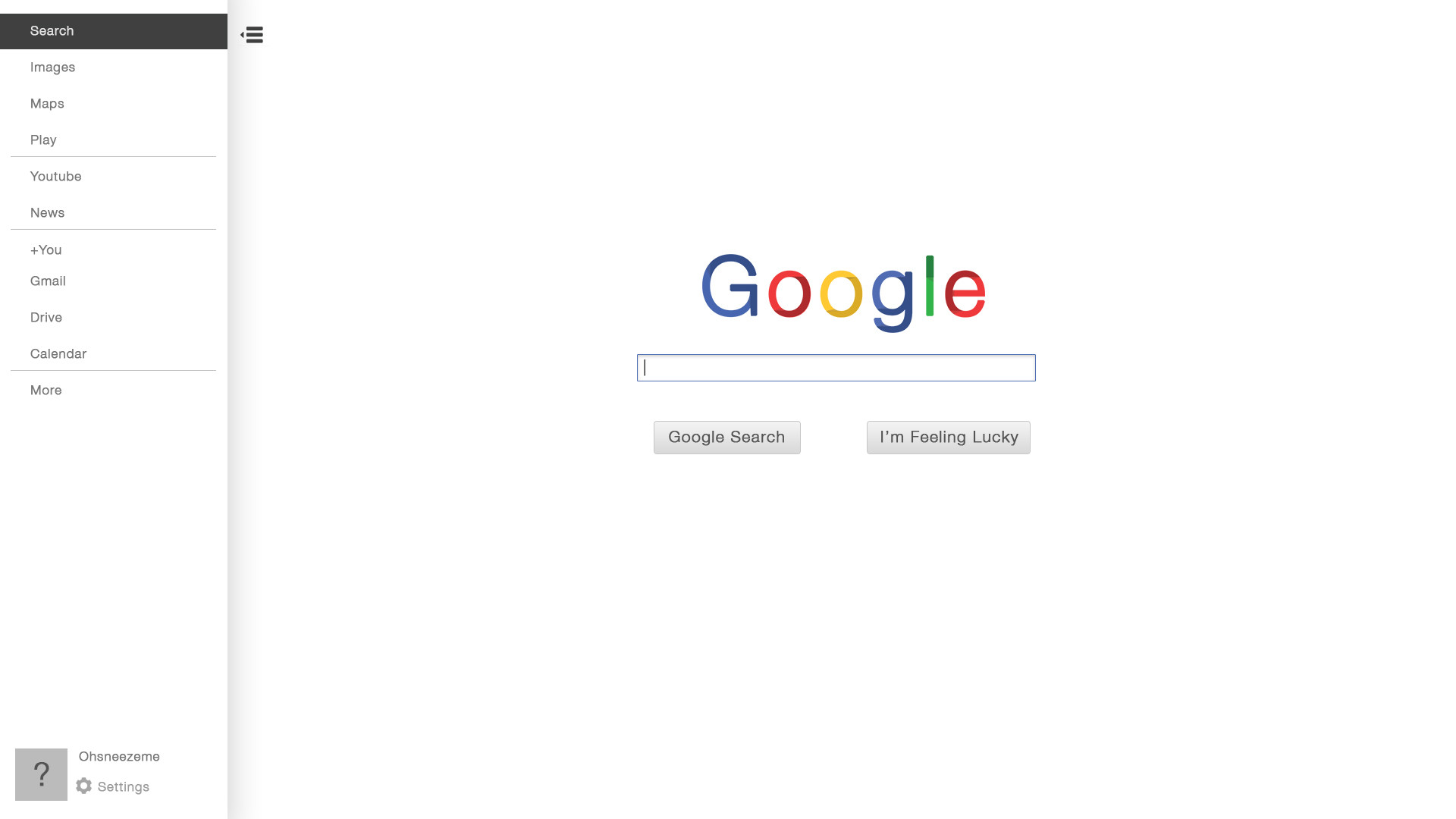 Google Home Search. google s homepage hypocrisy michaelzimmer org ...