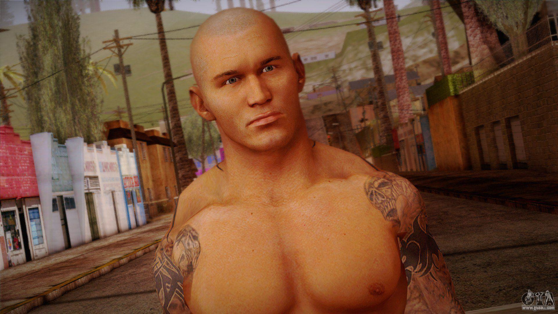 1920x1080 Randy Orton from Smackdown Vs Raw for GTA San Andreas