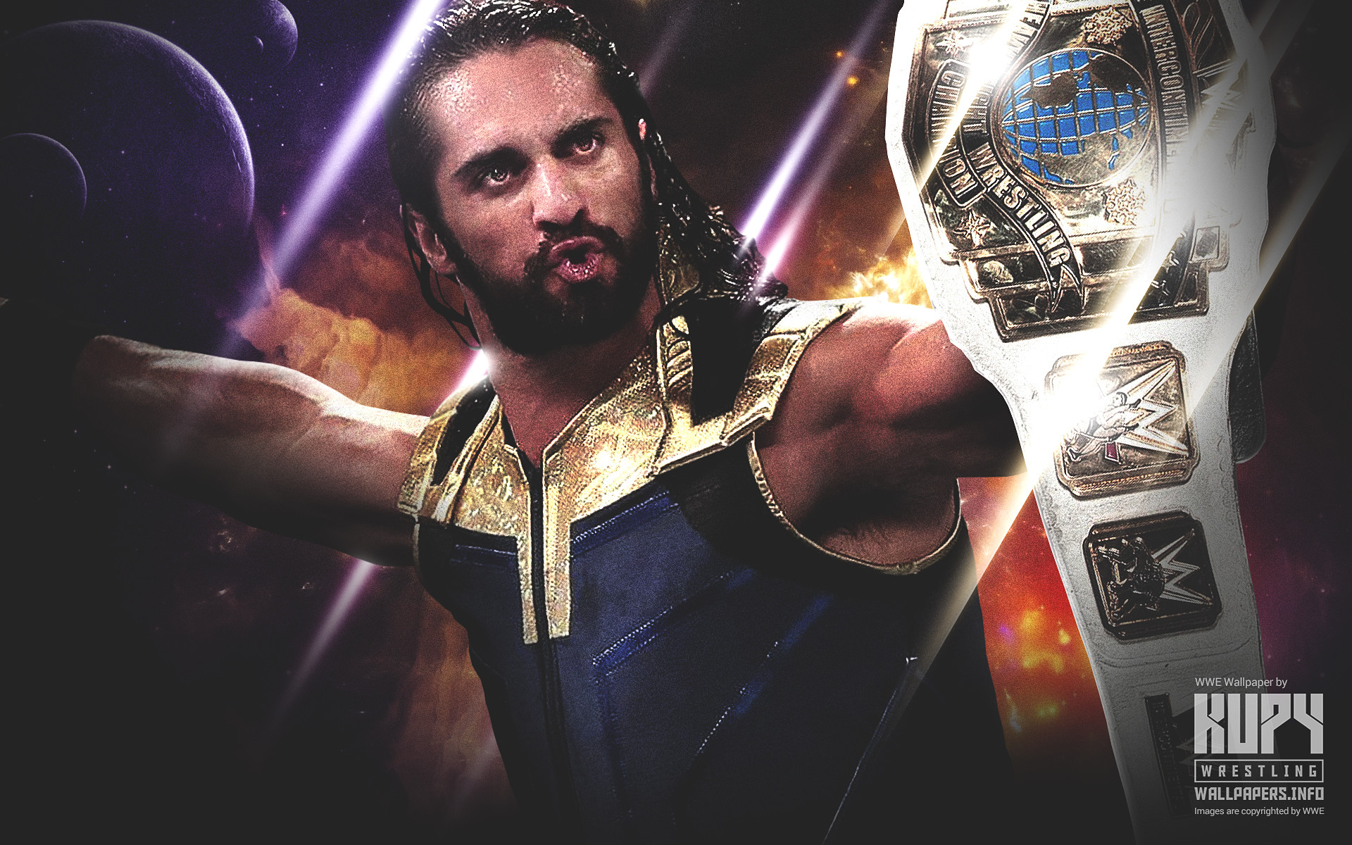 WWE Seth Rollins Wallpapers (86+ Images