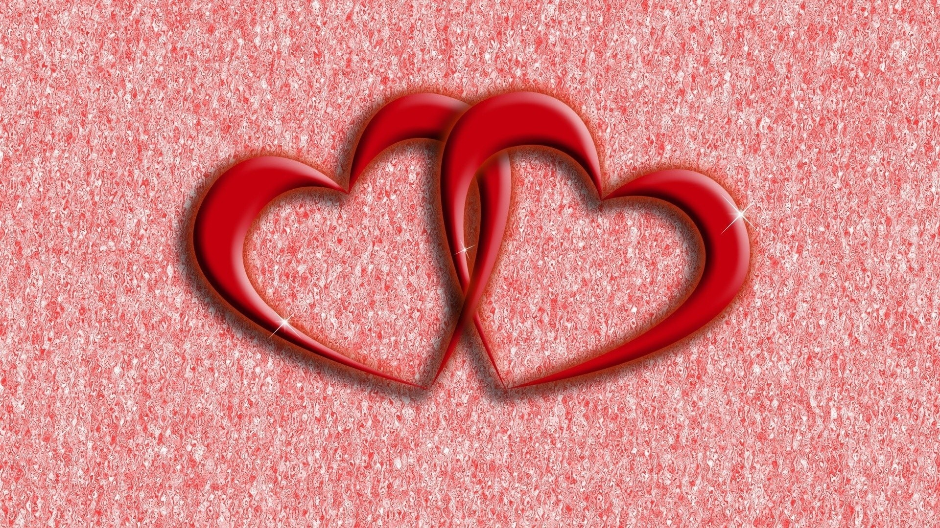 1920x1080 download cool hd two red hearts wallpaper for desktop