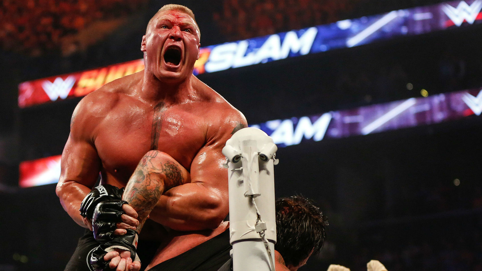 1920x1080 WWE won't punish Brock Lesnar for positive UFC drug tests | WWE | Sporting  News