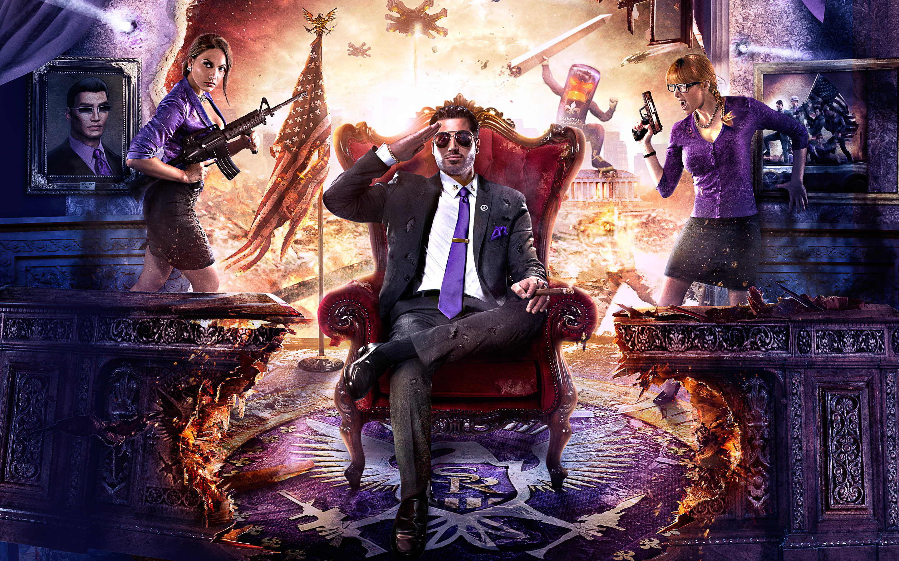 2880x1800 Original: ( Widescreen Wallpapers ). Download Saints Row ...
