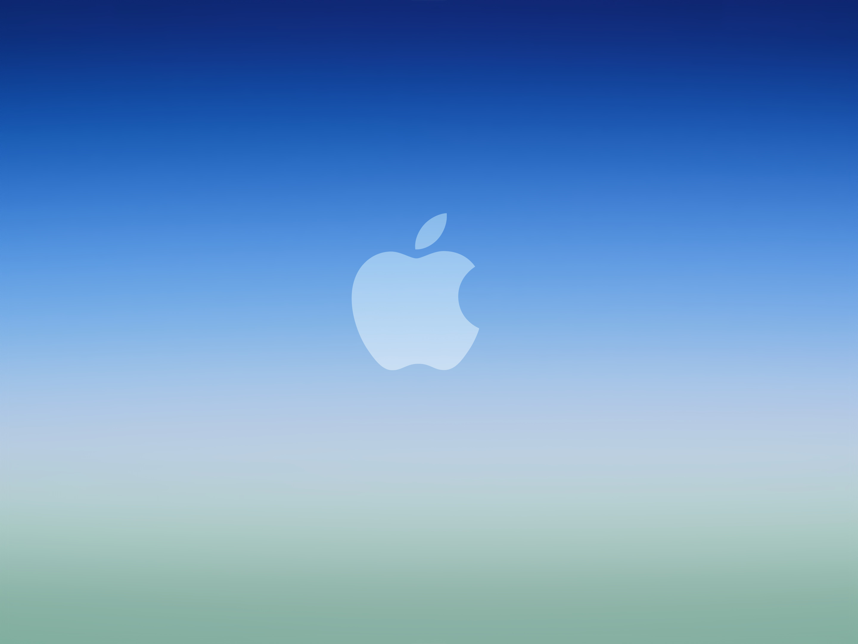 2880x2160 blue-ios-gradient-apple-logowallpaper