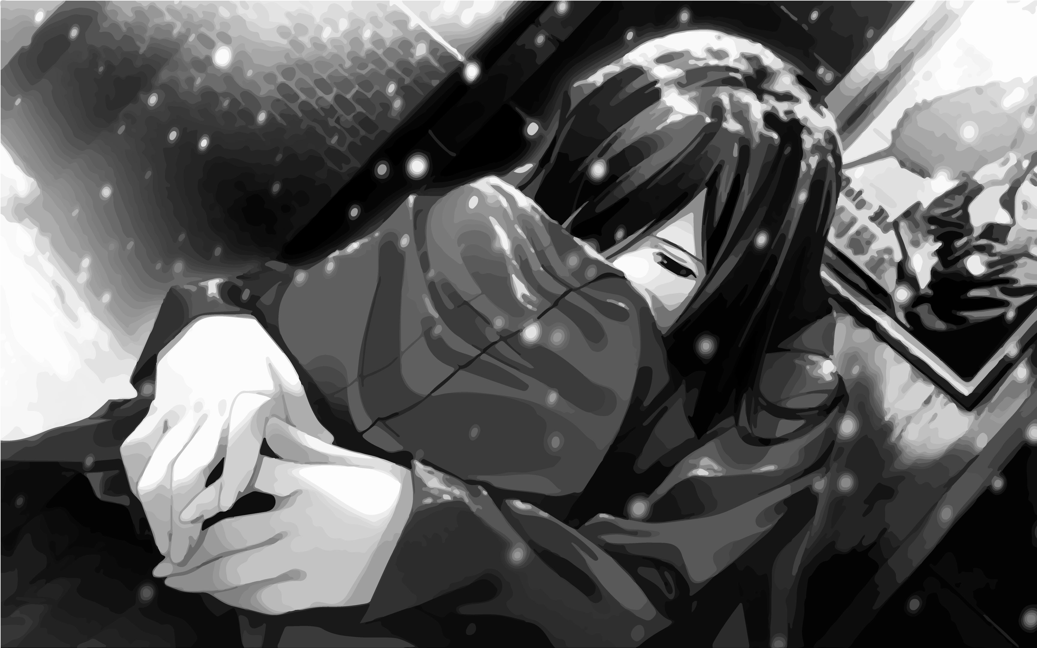 i am okay crying anime girl
