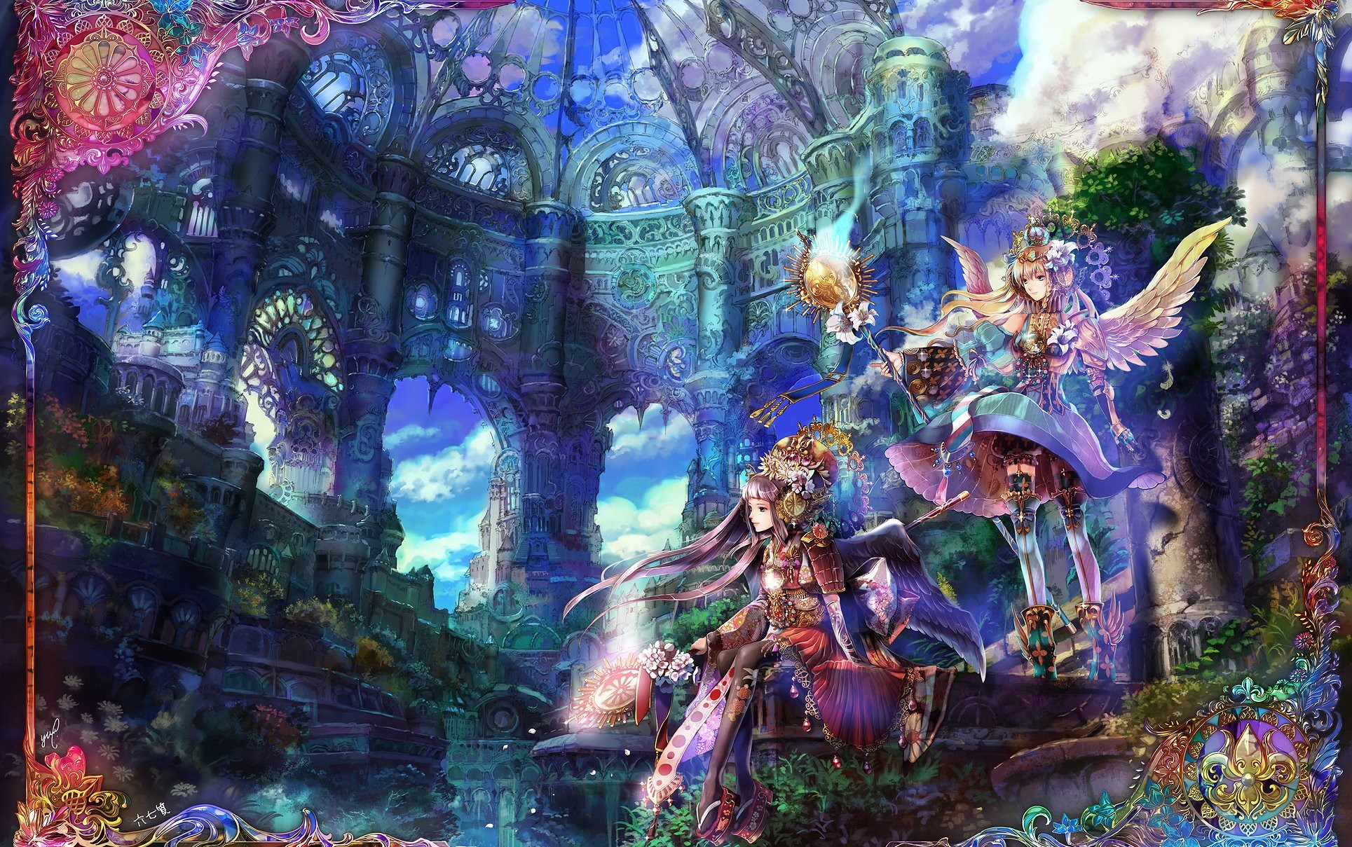 Anime Fantasy Art Wallpapers Hd Desktop And Mobile: Anime Fantasy Wallpaper (74+ Images