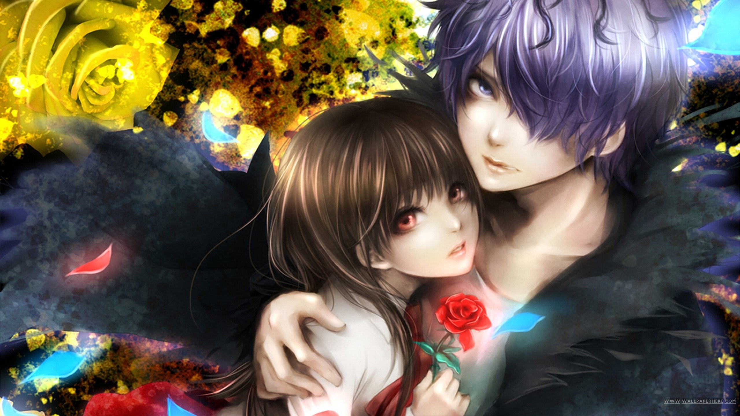 2560x1440 Sweet Couple Download; wallpapers ...