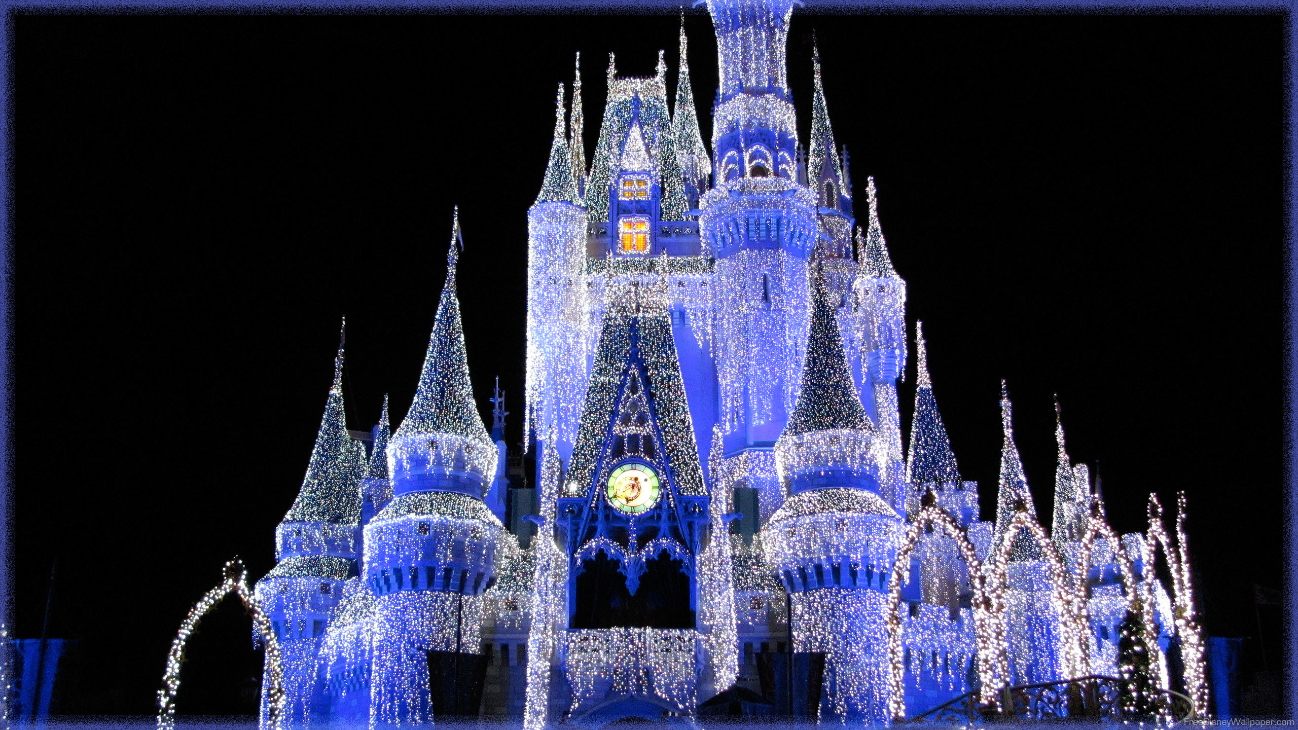 2560x1440 Disney Wallpaper – Free Disney Wallpapers » Cinderella Castle