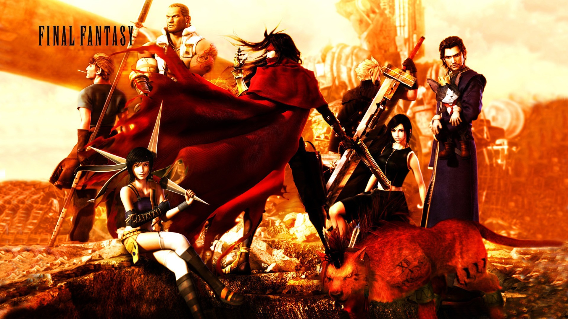 Final Fantasy Advent Children Wallpaper 77 Images
