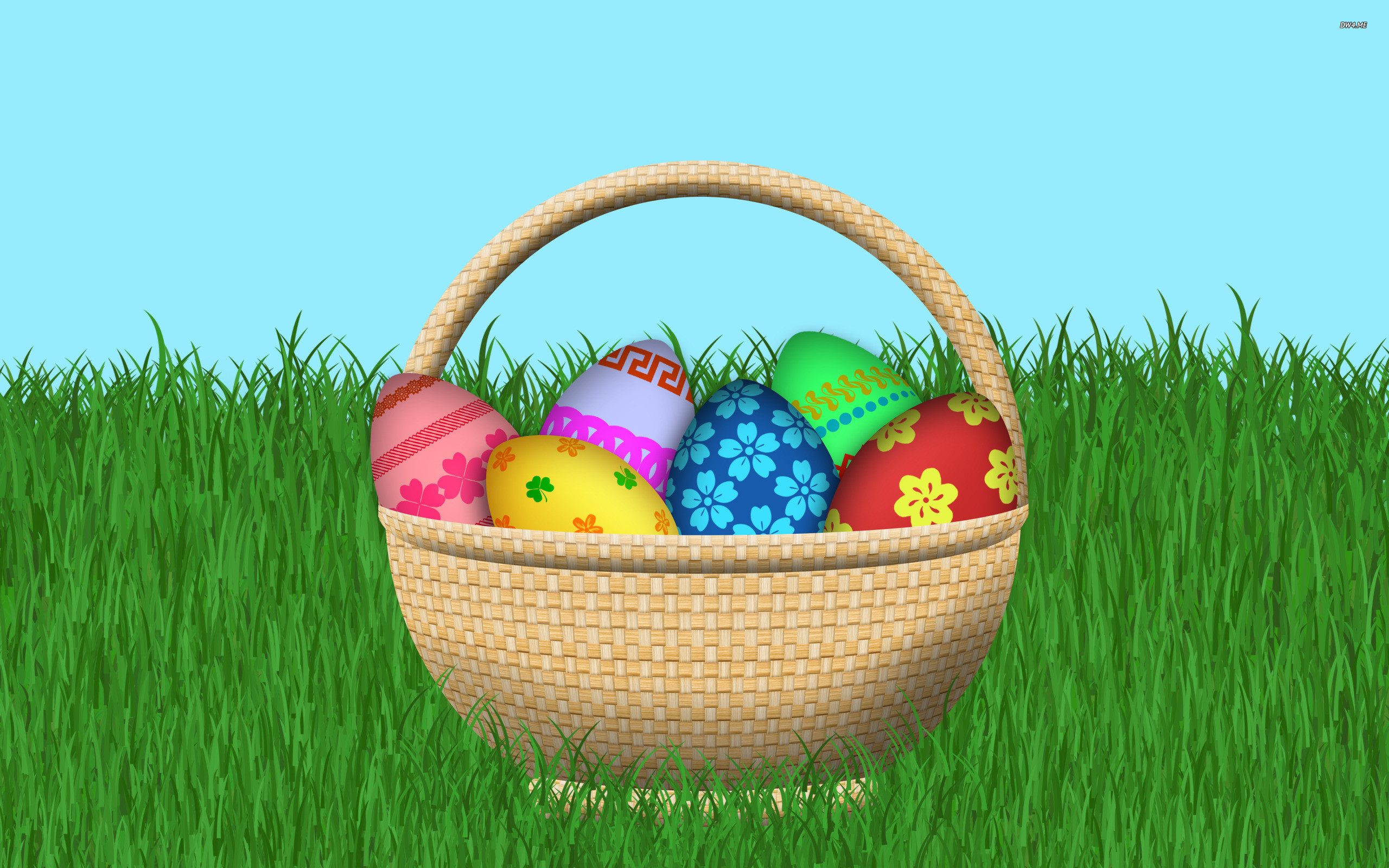 2560x1600 My Fanpop Friends and I images Easter Egg Basket HD wallpaper and  background photos