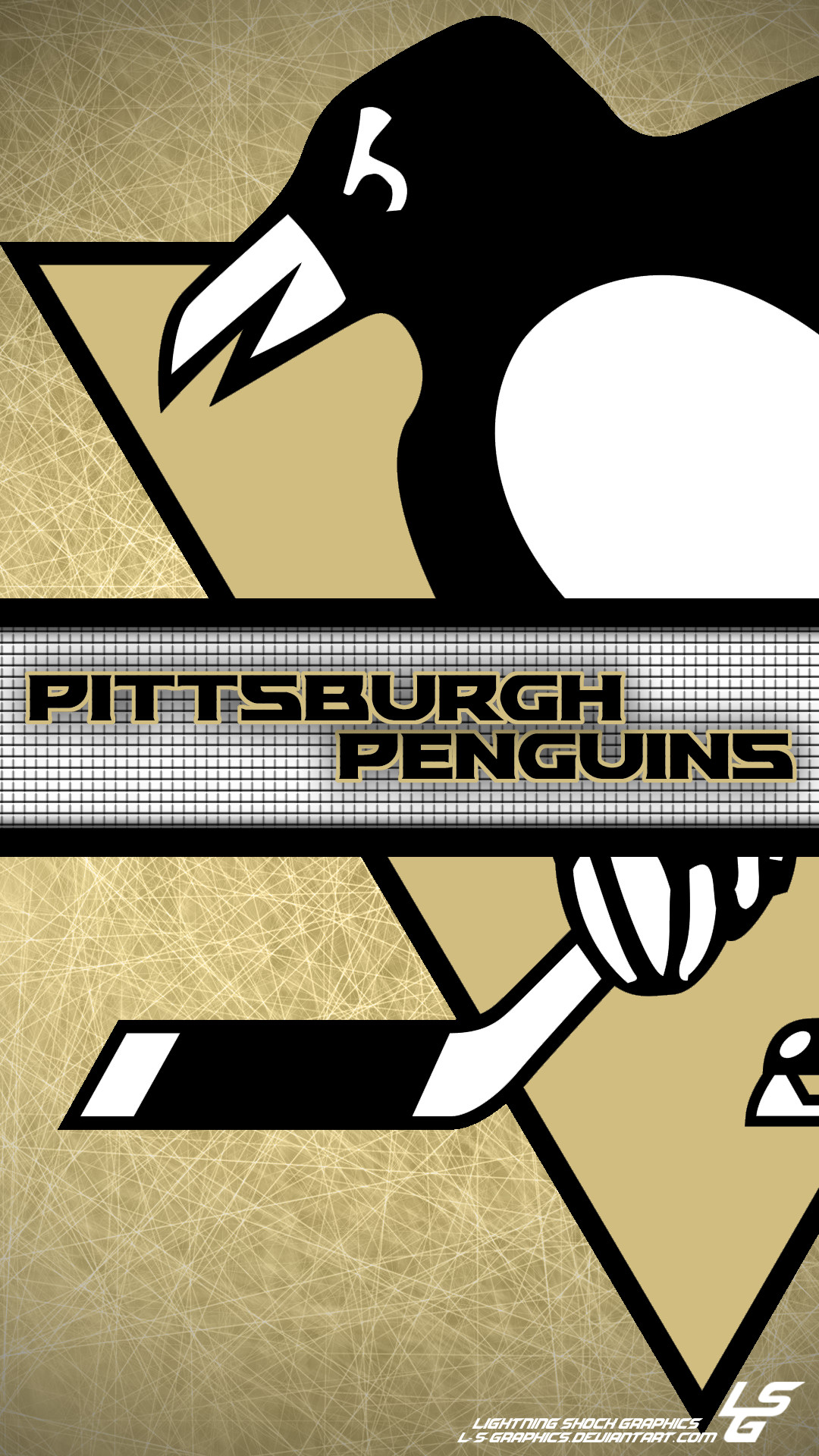 1080x1920 ... Pittsburgh Penguins Galaxy S4 Wallpaper by L-S-Graphics
