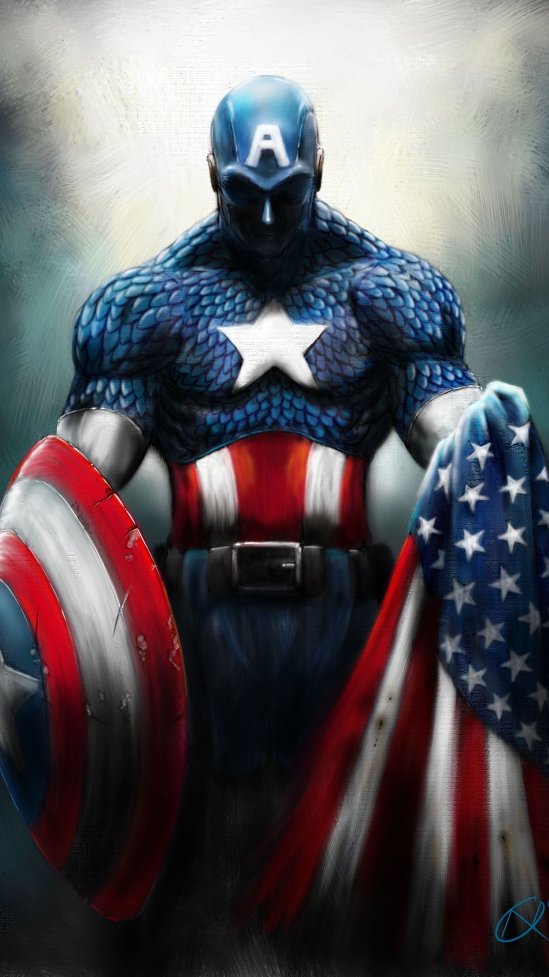 Captain america iphone 6 wallpaper 85 images - Captain america hd mobile wallpaper ...