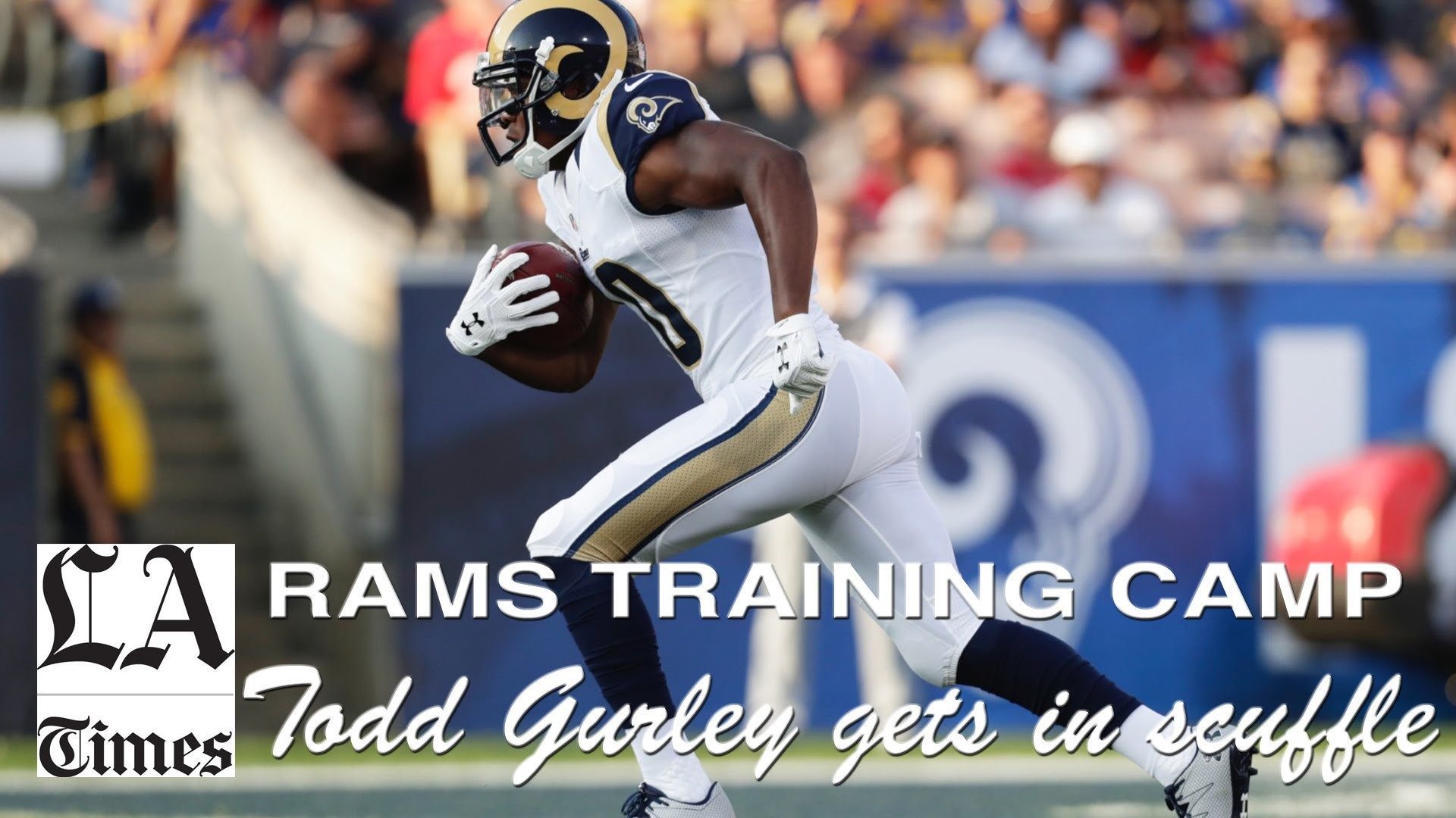 1920x1080 Todd Gurley, Rams players break out in scuffle during practice