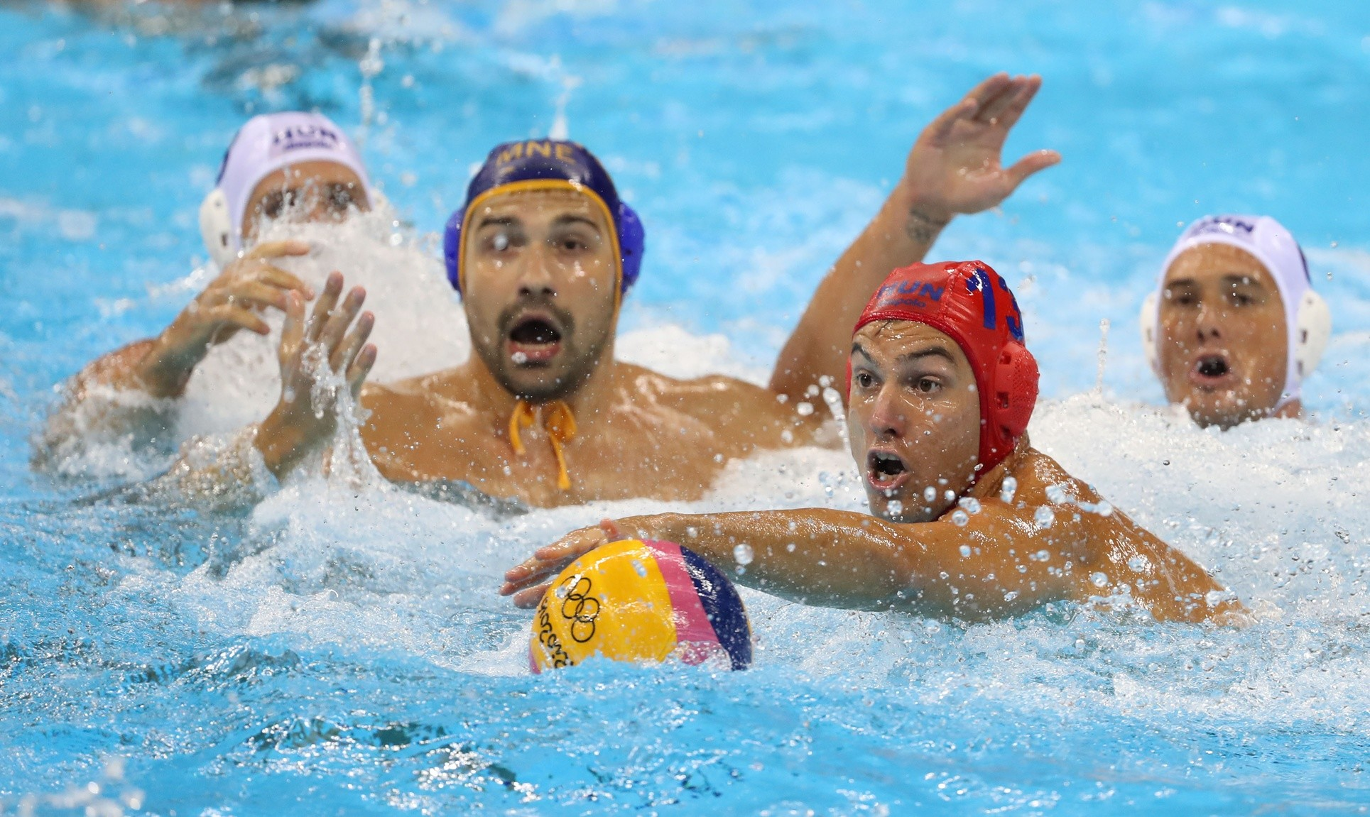 1929x1151 Water Polo Olympic quarterfinals: Croatia, Montenegro, Serbia, Italy  advance - Swimming World News