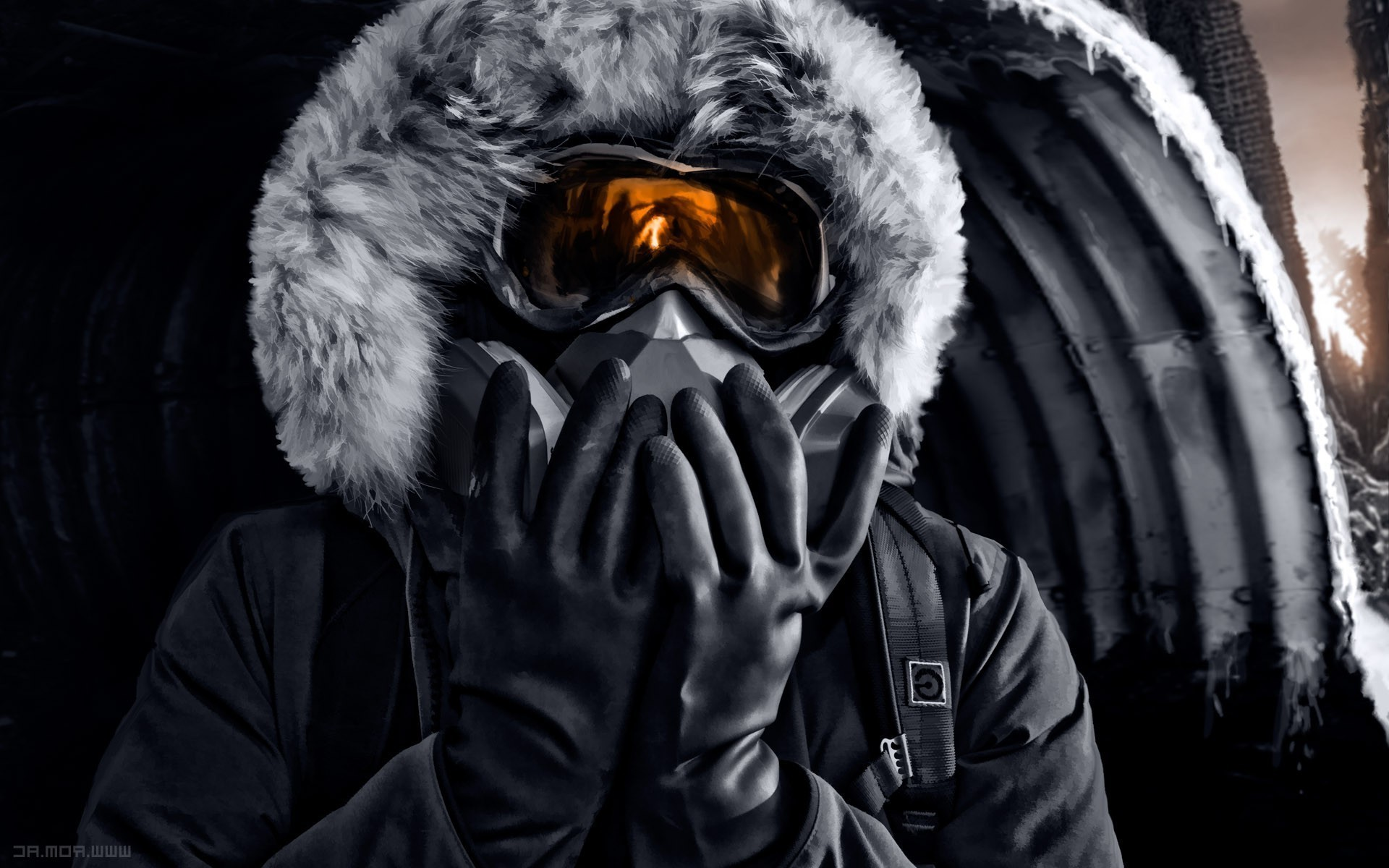 Cool Gas Mask Wallpapers 63 Images